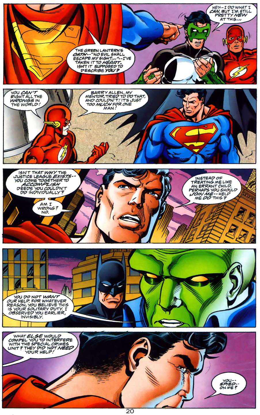 Read online Adventures of Superman (1987) comic -  Issue #565 - 21