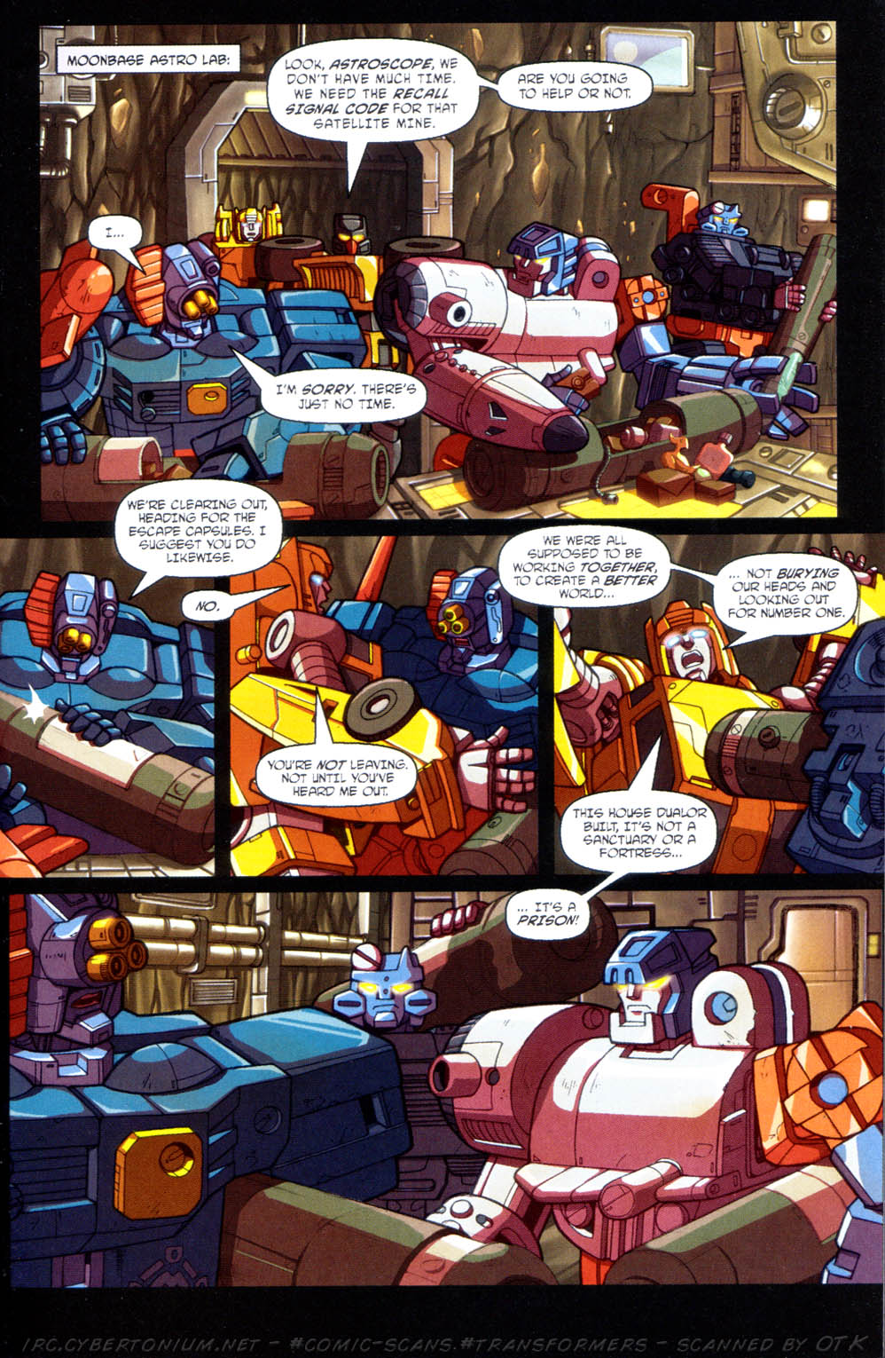 Read online Transformers Armada comic -  Issue #11 - 9