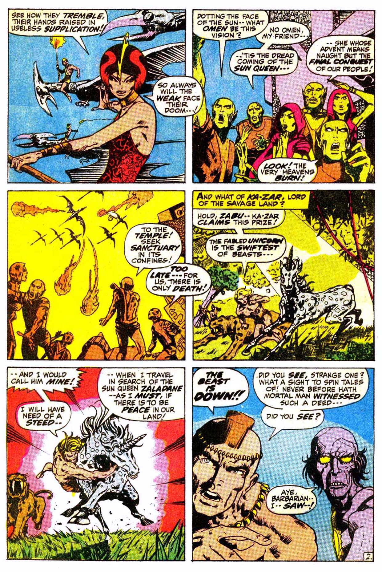Read online Astonishing Tales (1970) comic -  Issue #4 - 13