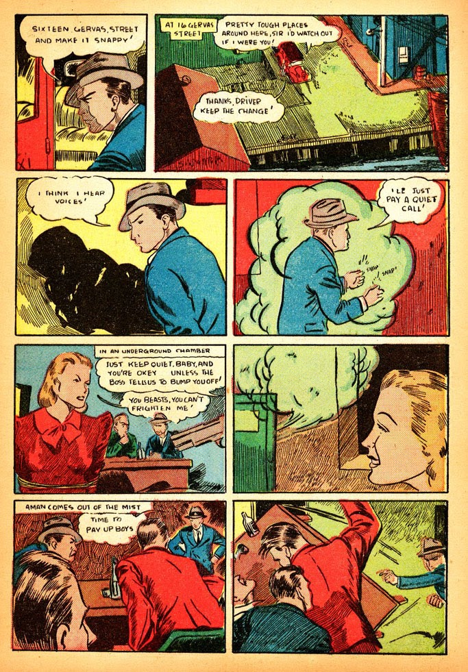 Read online Amazing Man Comics comic -  Issue #12 - 15