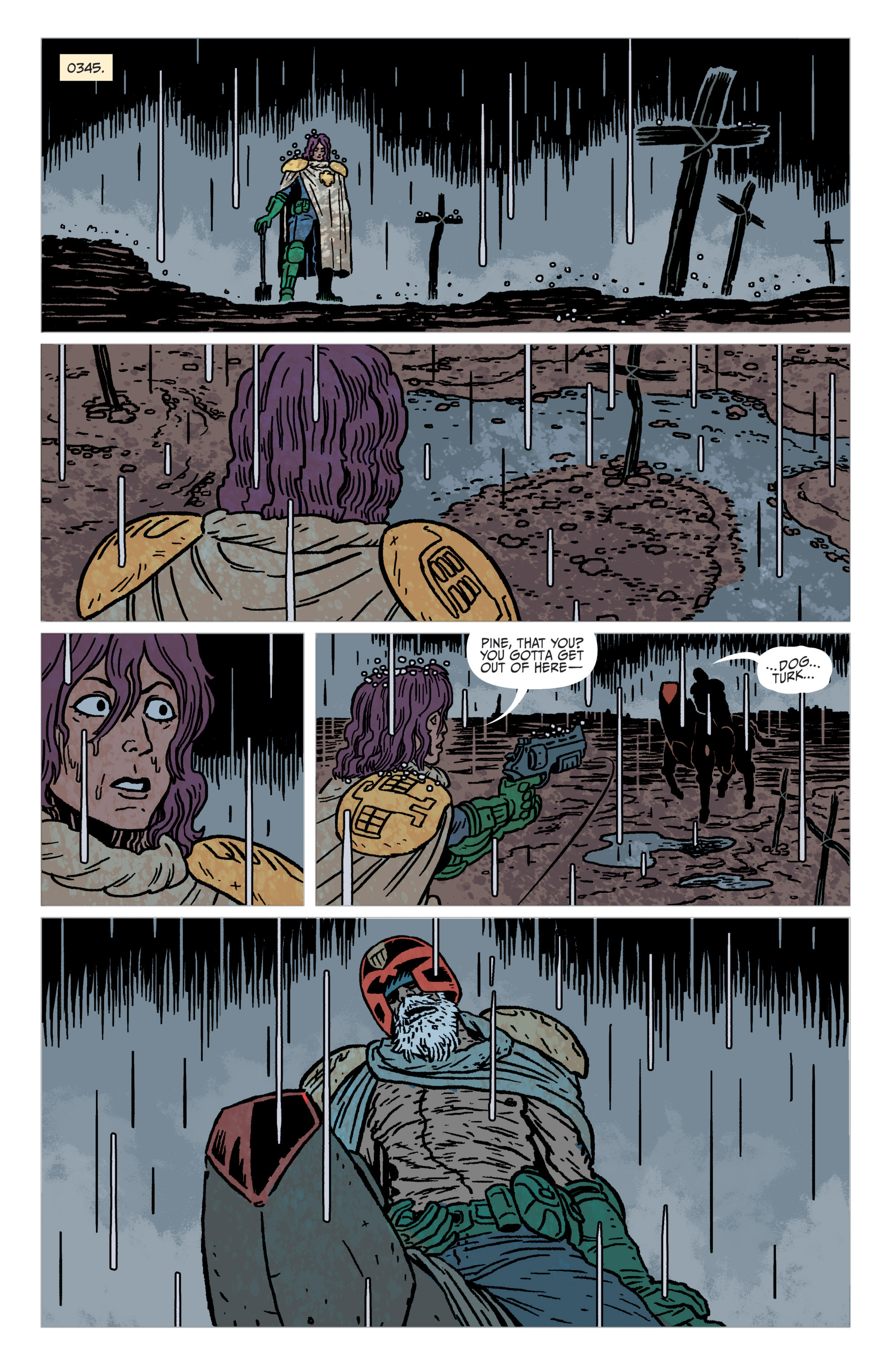 Read online Judge Dredd: The Blessed Earth comic -  Issue #1 - 23