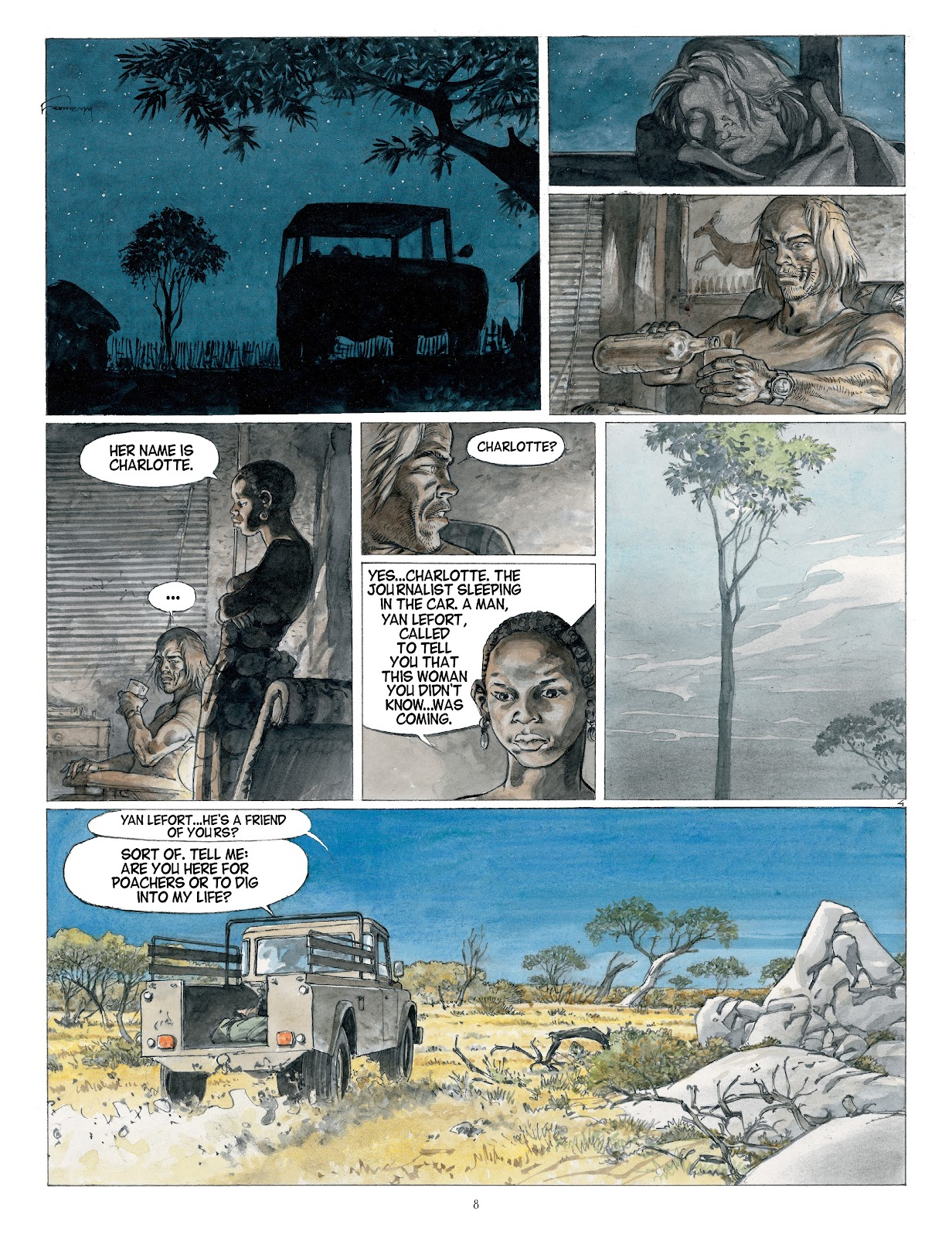 Read online Afrika comic -  Issue # TPB - 8