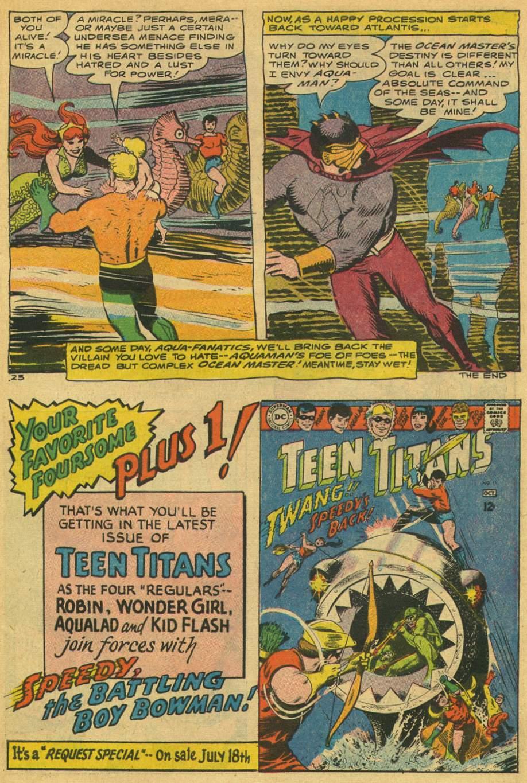 Read online Aquaman (1962) comic -  Issue #35 - 31