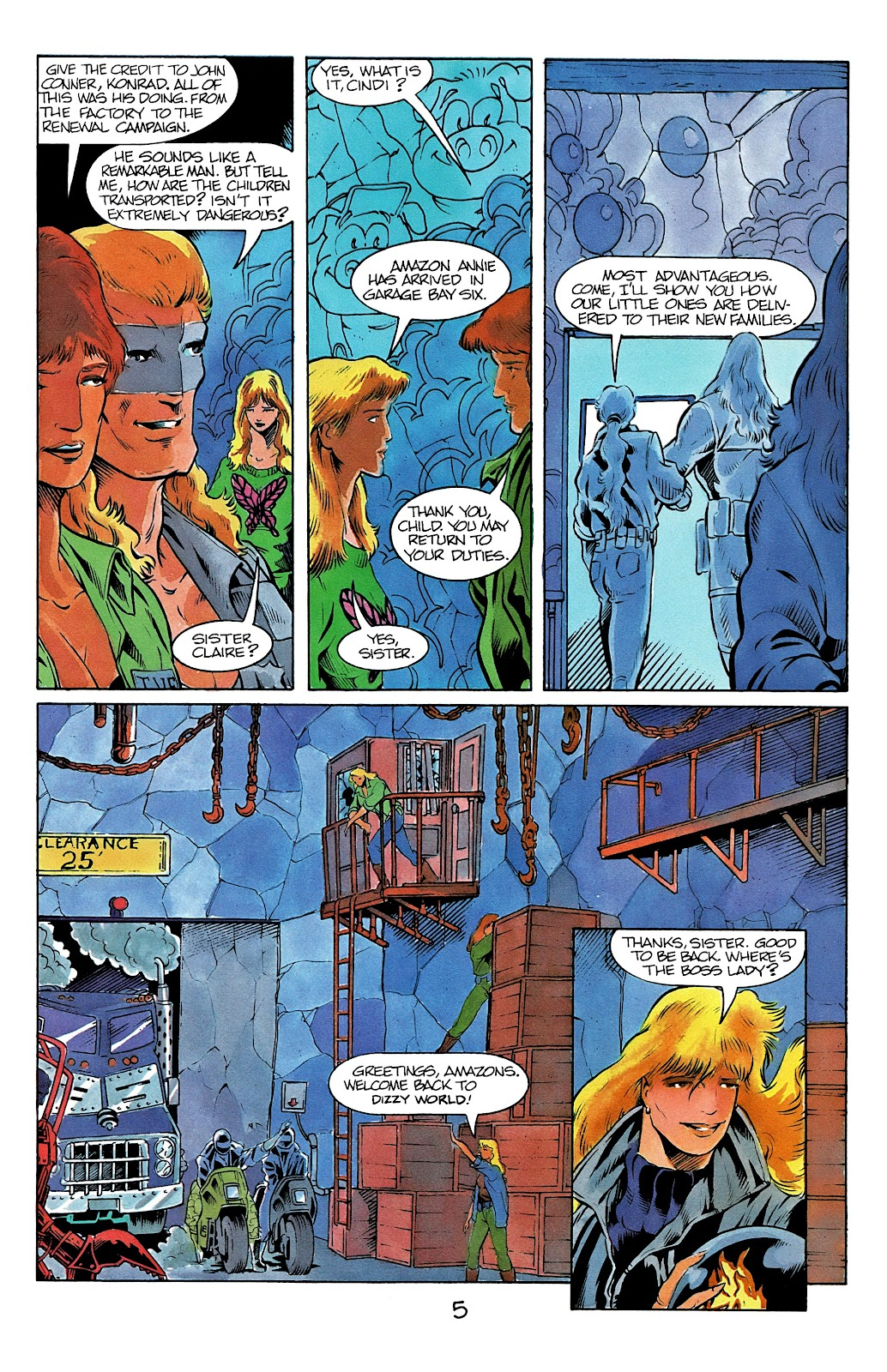 The Terminator (1988) issue 12 - Page 7
