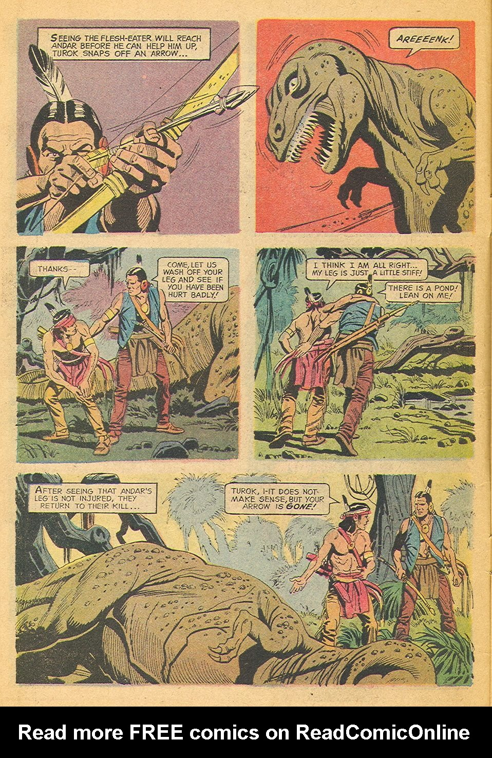 Read online Turok, Son of Stone comic -  Issue #77 - 6