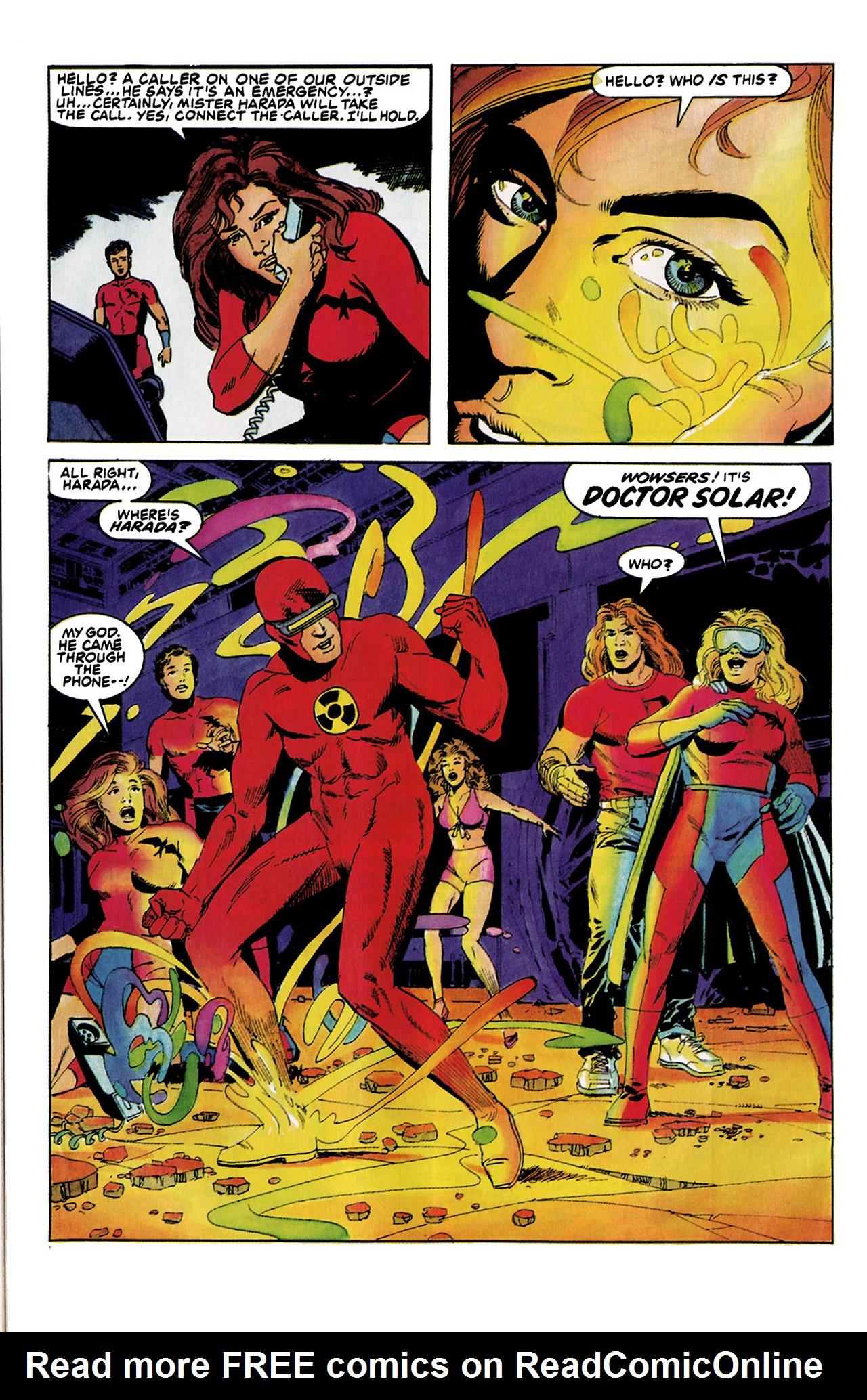 Read online Harbinger (1992) comic -  Issue #5 - 20