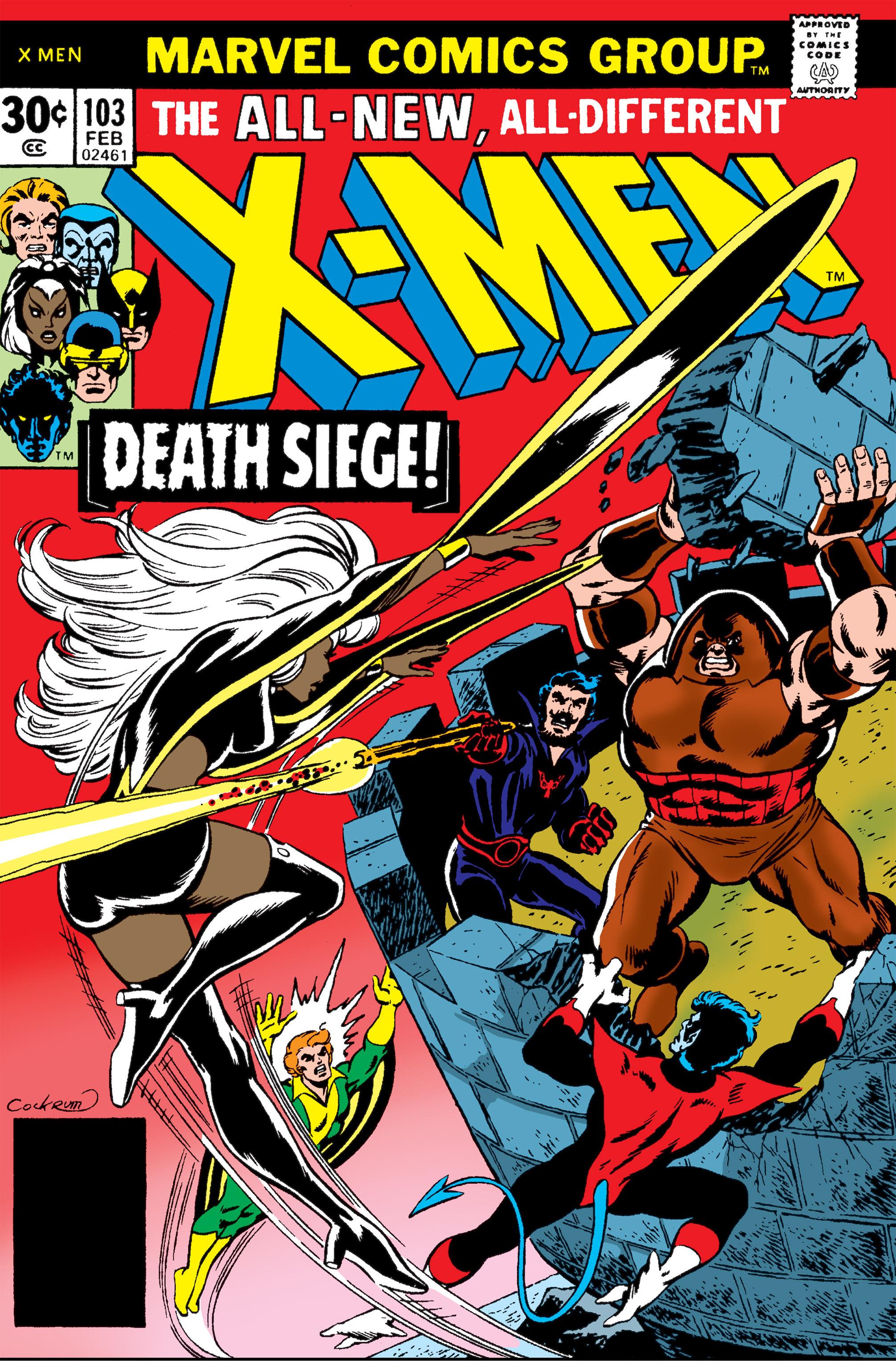 Uncanny X-Men (1963) 103 Page 0