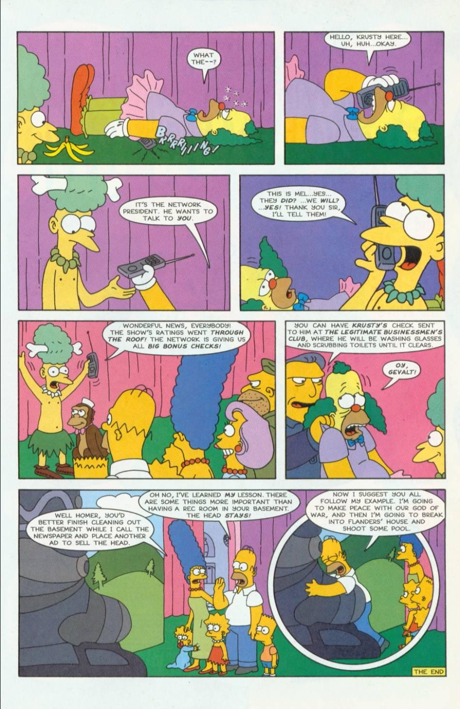 Read online Simpsons Comics comic -  Issue #40 - 22