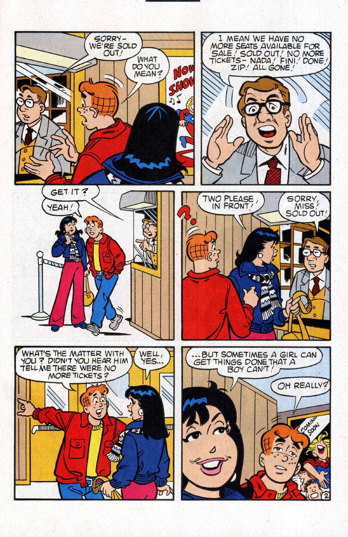 Read online Archie (1960) comic -  Issue #531 - 22