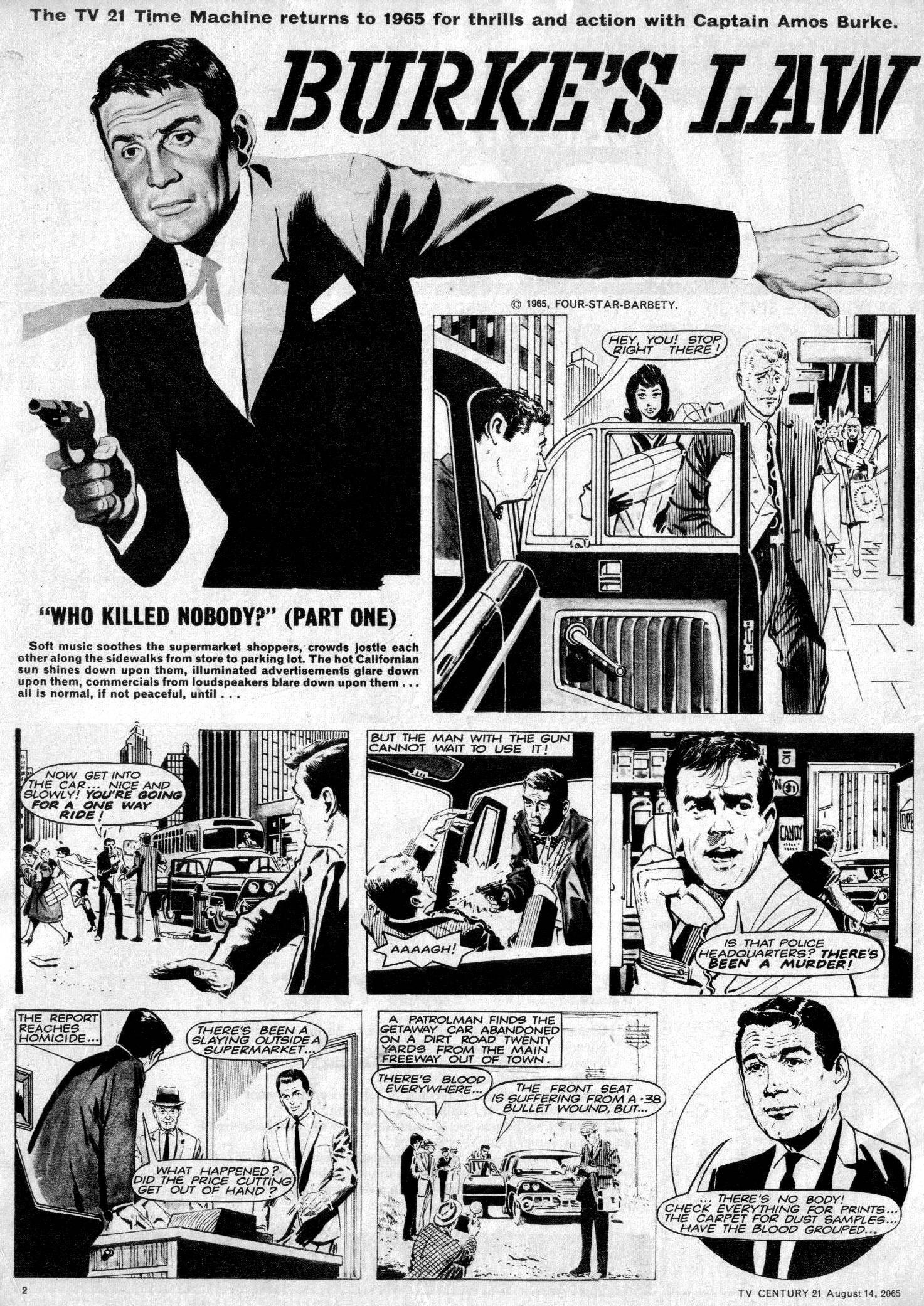 Read online TV Century 21 (TV 21) comic -  Issue #30 - 2