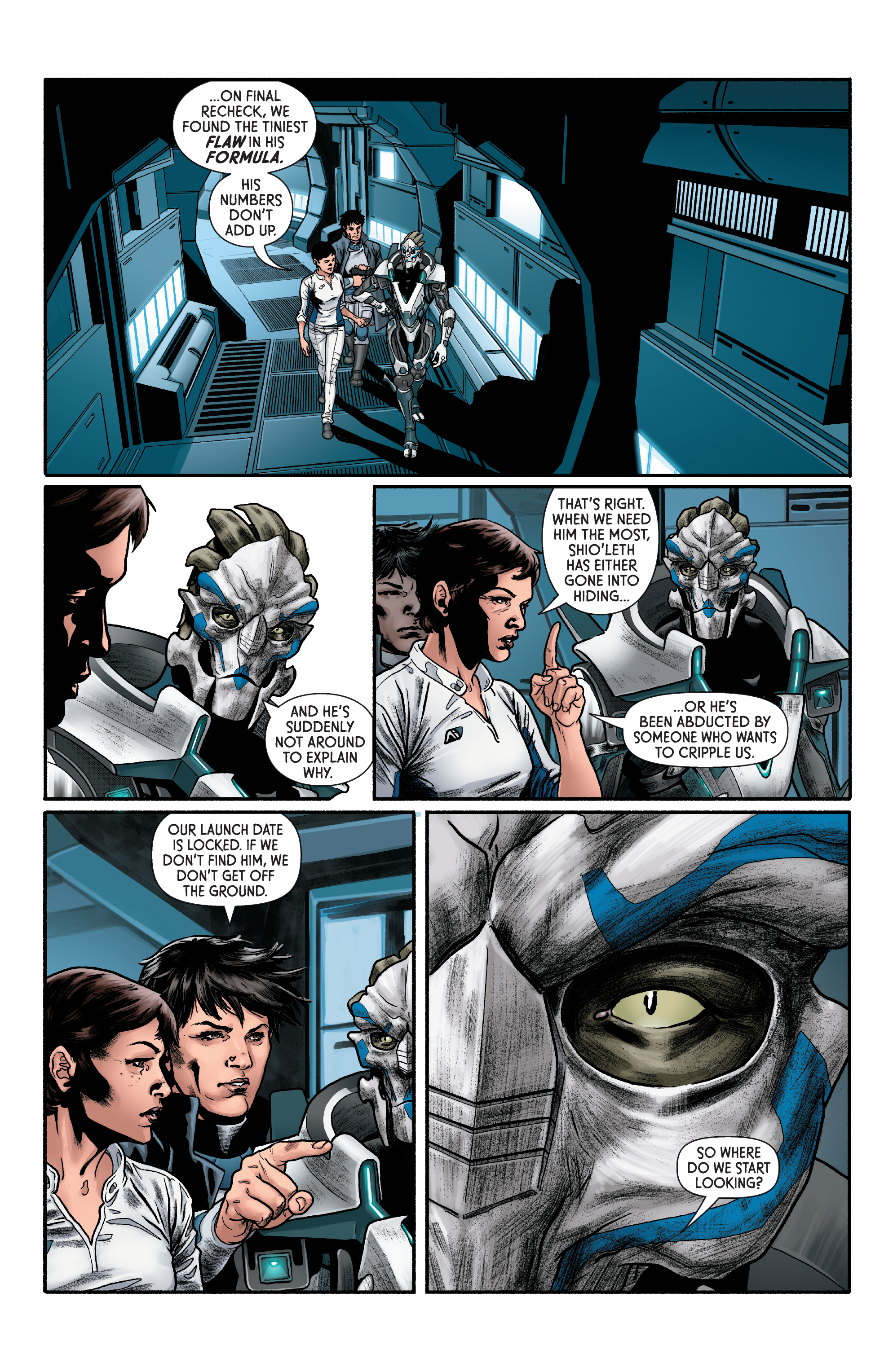 Read online Mass Effect: Discovery comic -  Issue #1 - 20