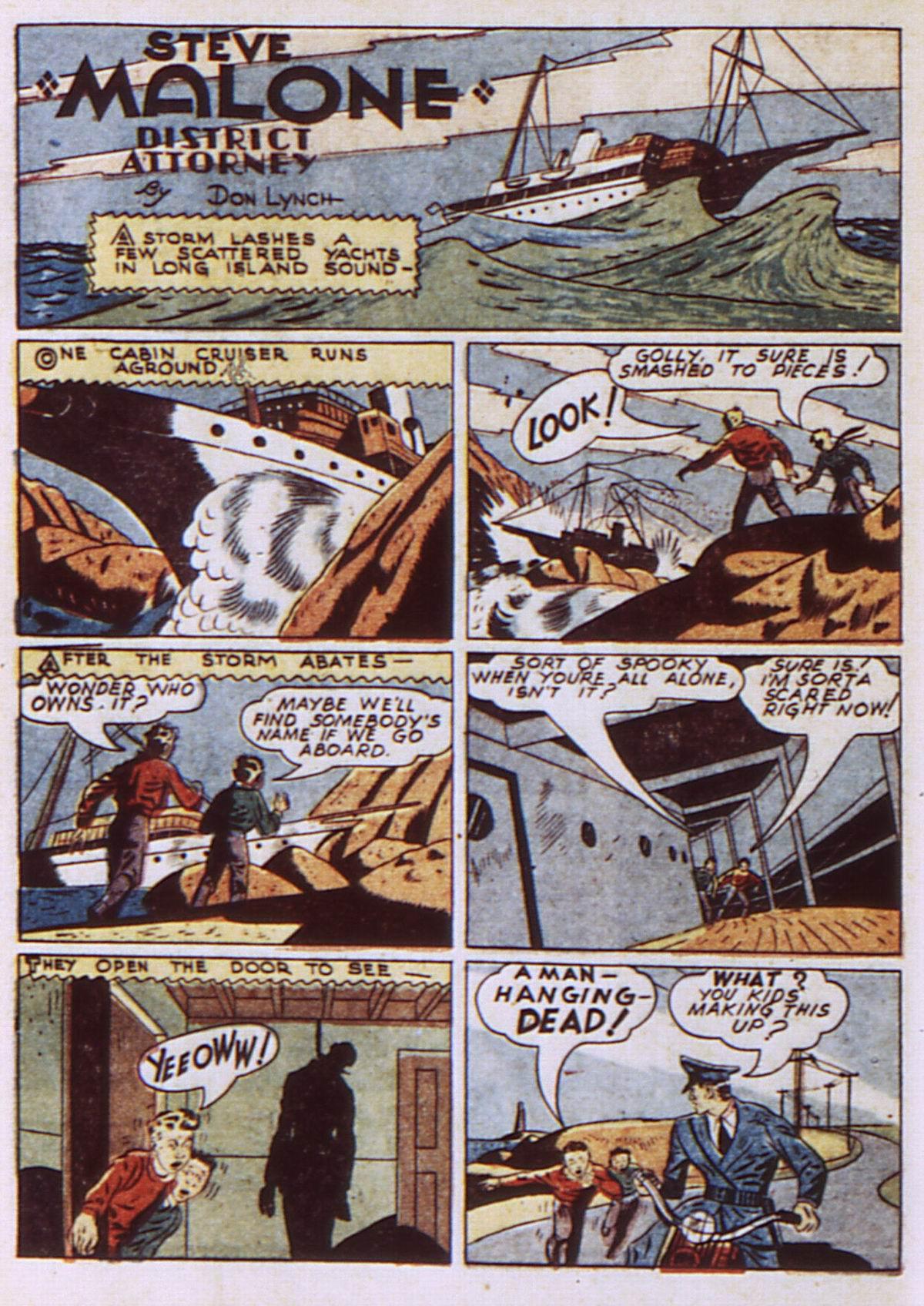 Read online Detective Comics (1937) comic -  Issue #52 - 52