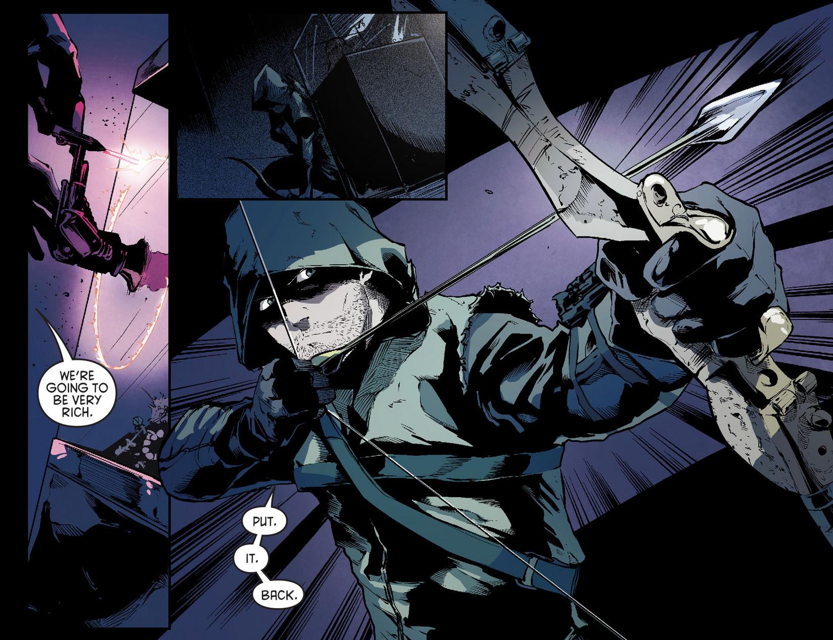 Read online Arrow [II] comic -  Issue #7 - 4