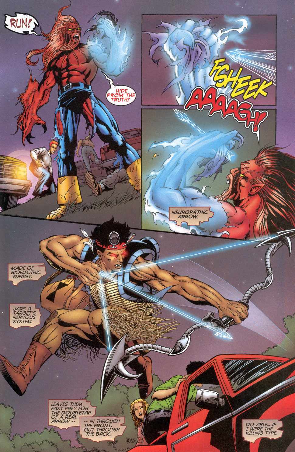 Read online Turok: Redpath comic -  Issue # Full - 24