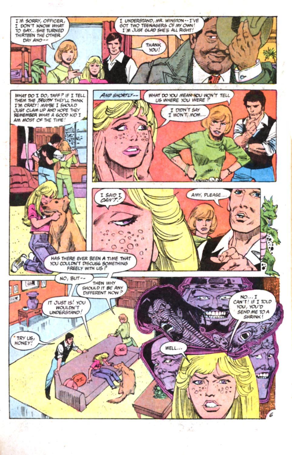 Read online Amethyst, Princess of Gemworld comic -  Issue #3 - 6