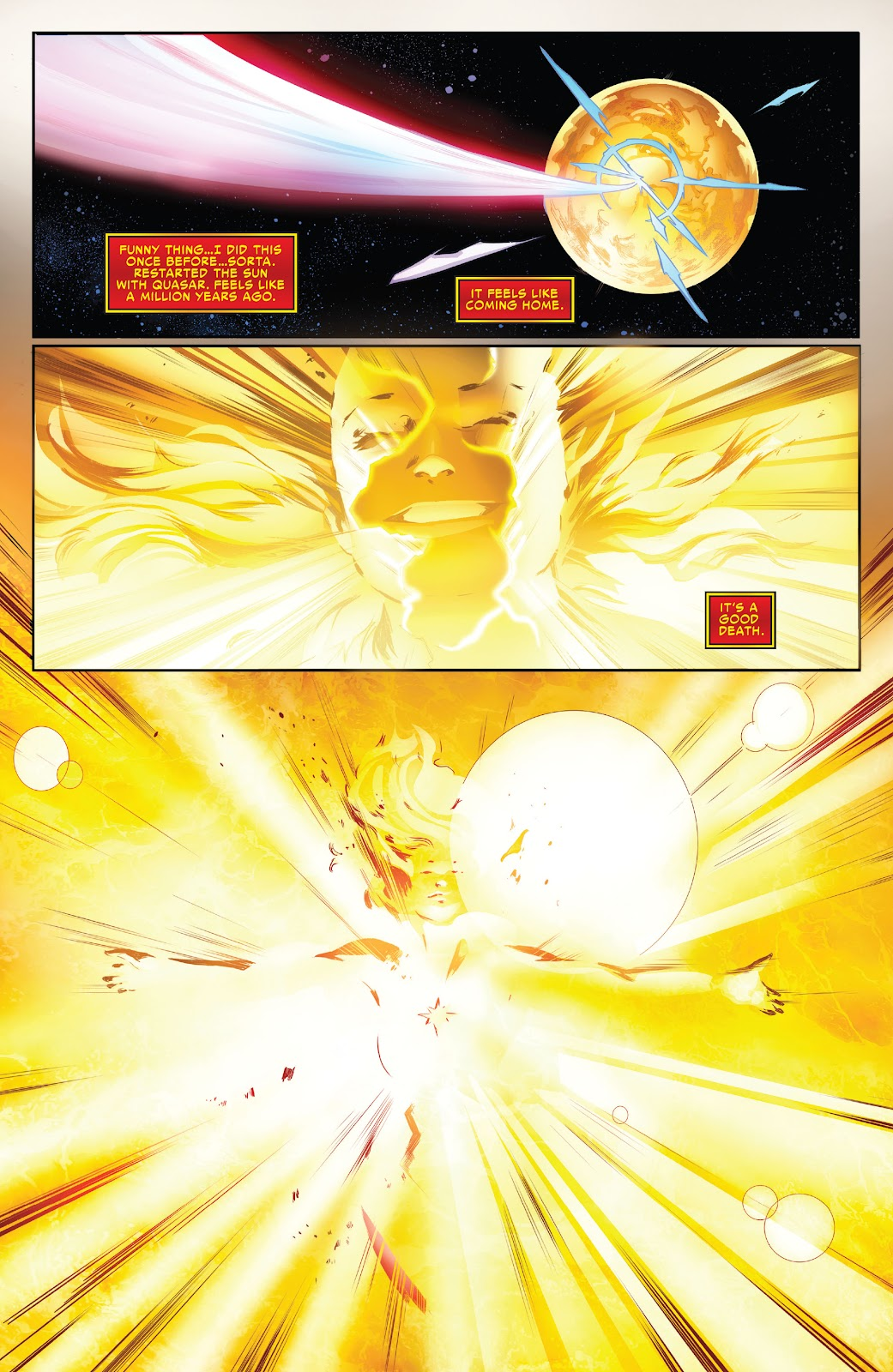 Read online Captain Marvel: The End comic -  Issue # Full - 28