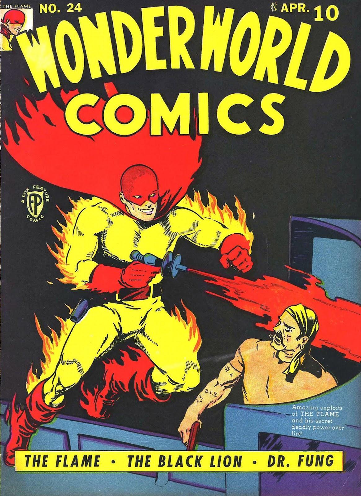 Wonderworld Comics issue 24 - Page 1