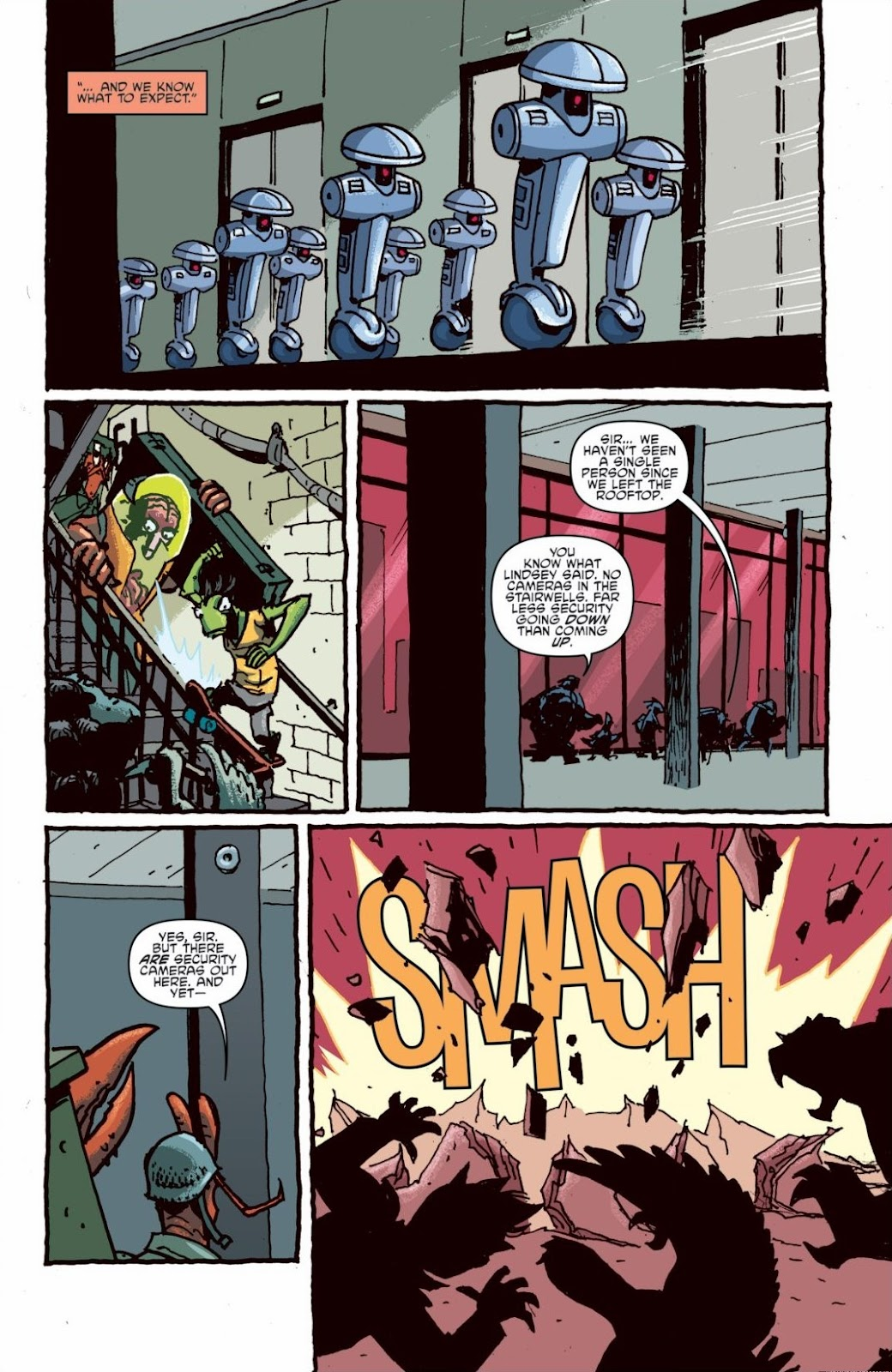 Read online Teenage Mutant Ninja Turtles: The IDW Collection comic -  Issue # TPB 6 (Part 1) - 85