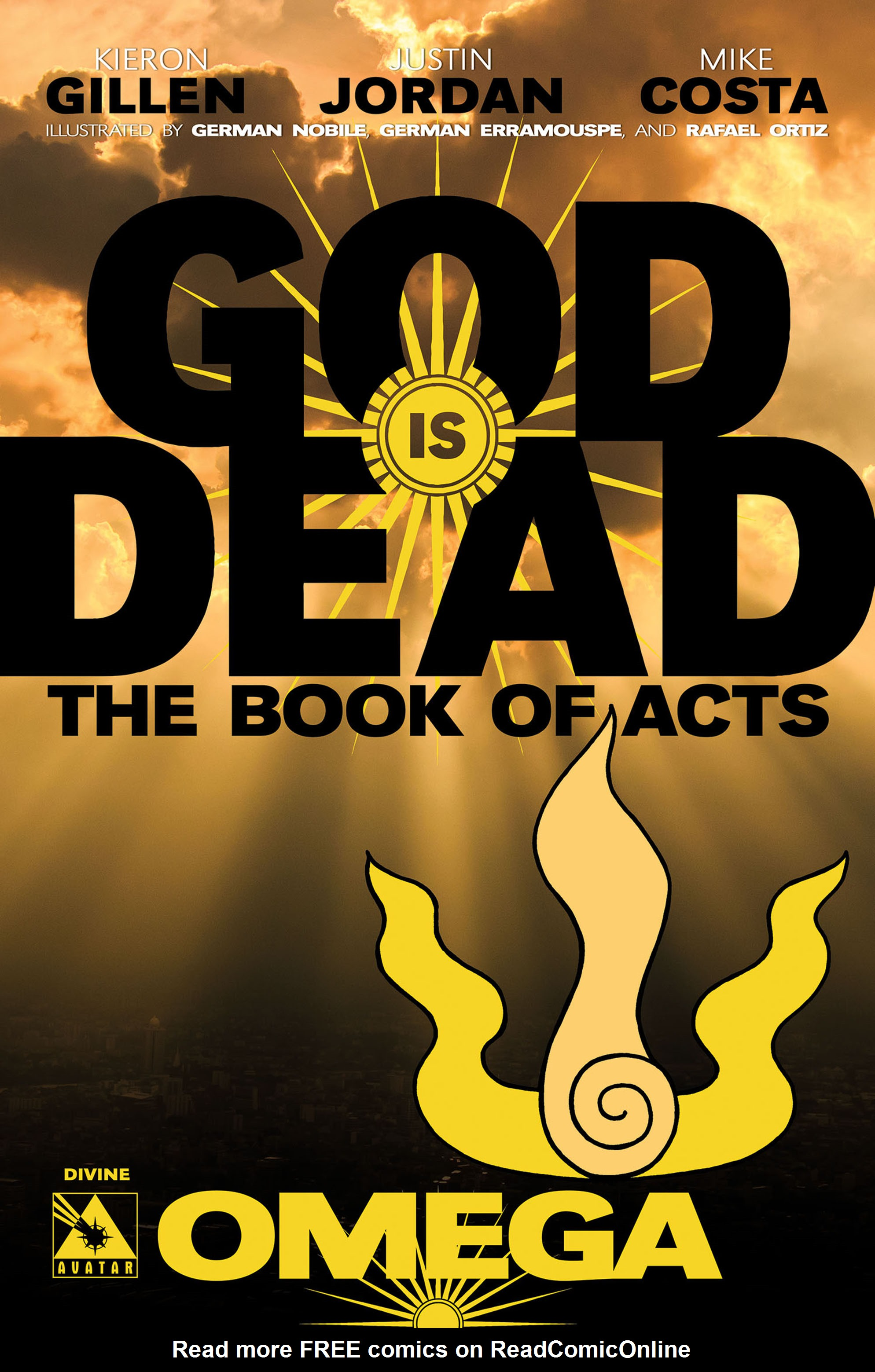 Read online God is Dead: Book of Acts comic -  Issue # Omega - 2