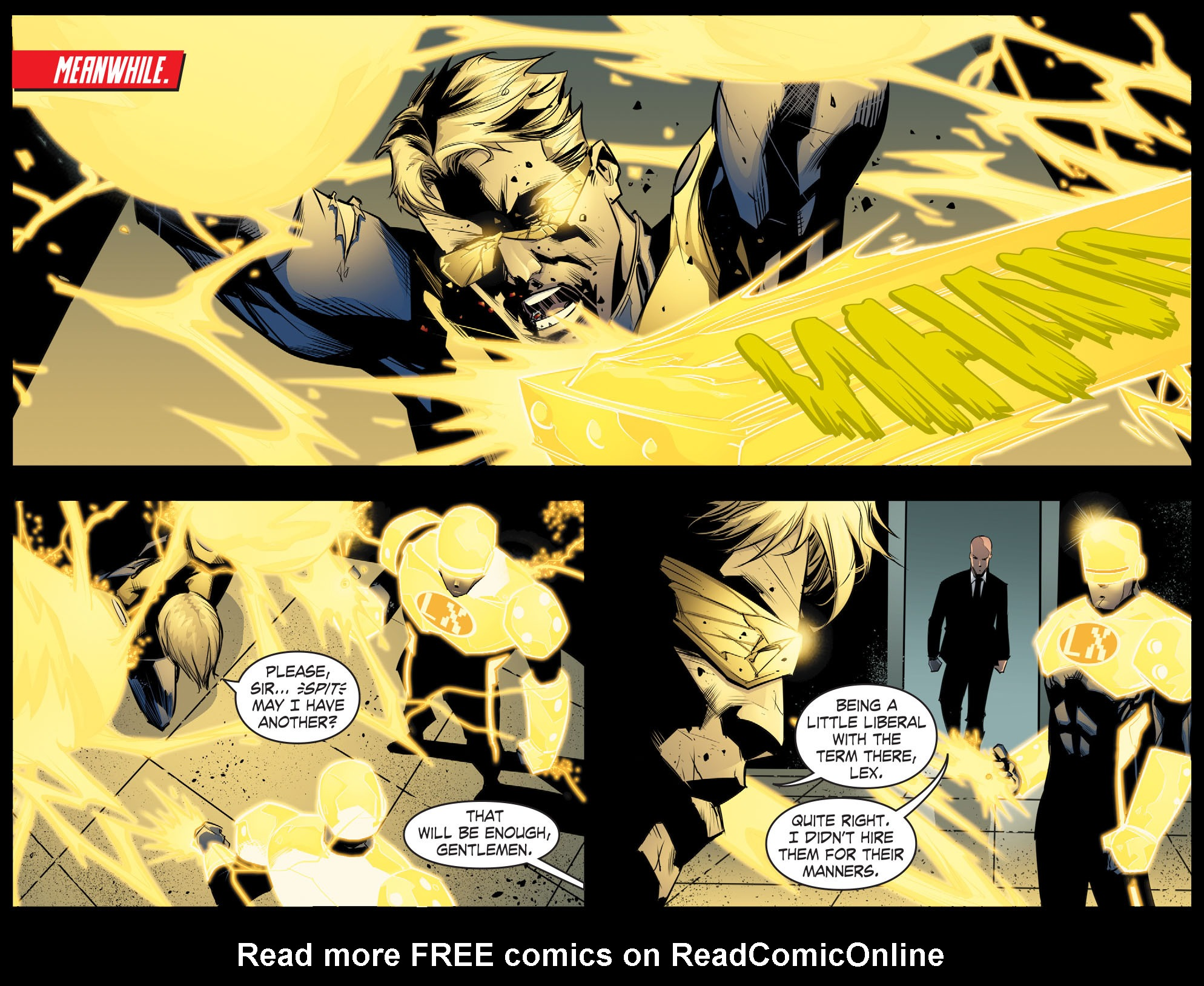 Read online Smallville: Chaos [II] comic -  Issue #8 - 3