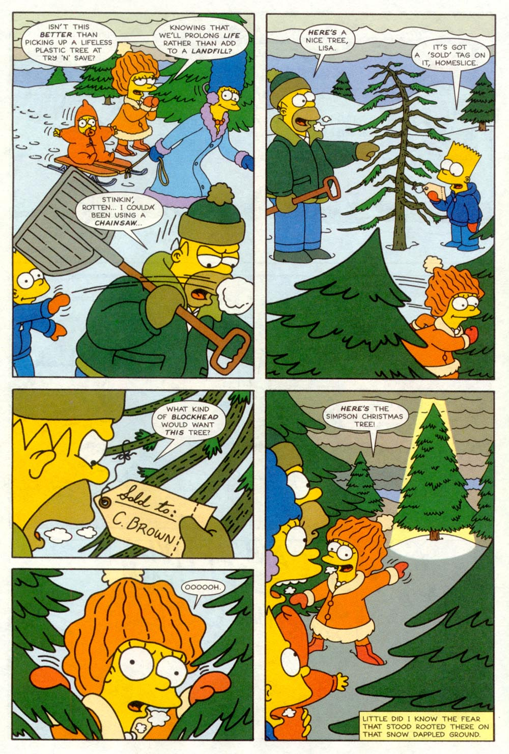 Read online Treehouse of Horror comic -  Issue #4 - 5