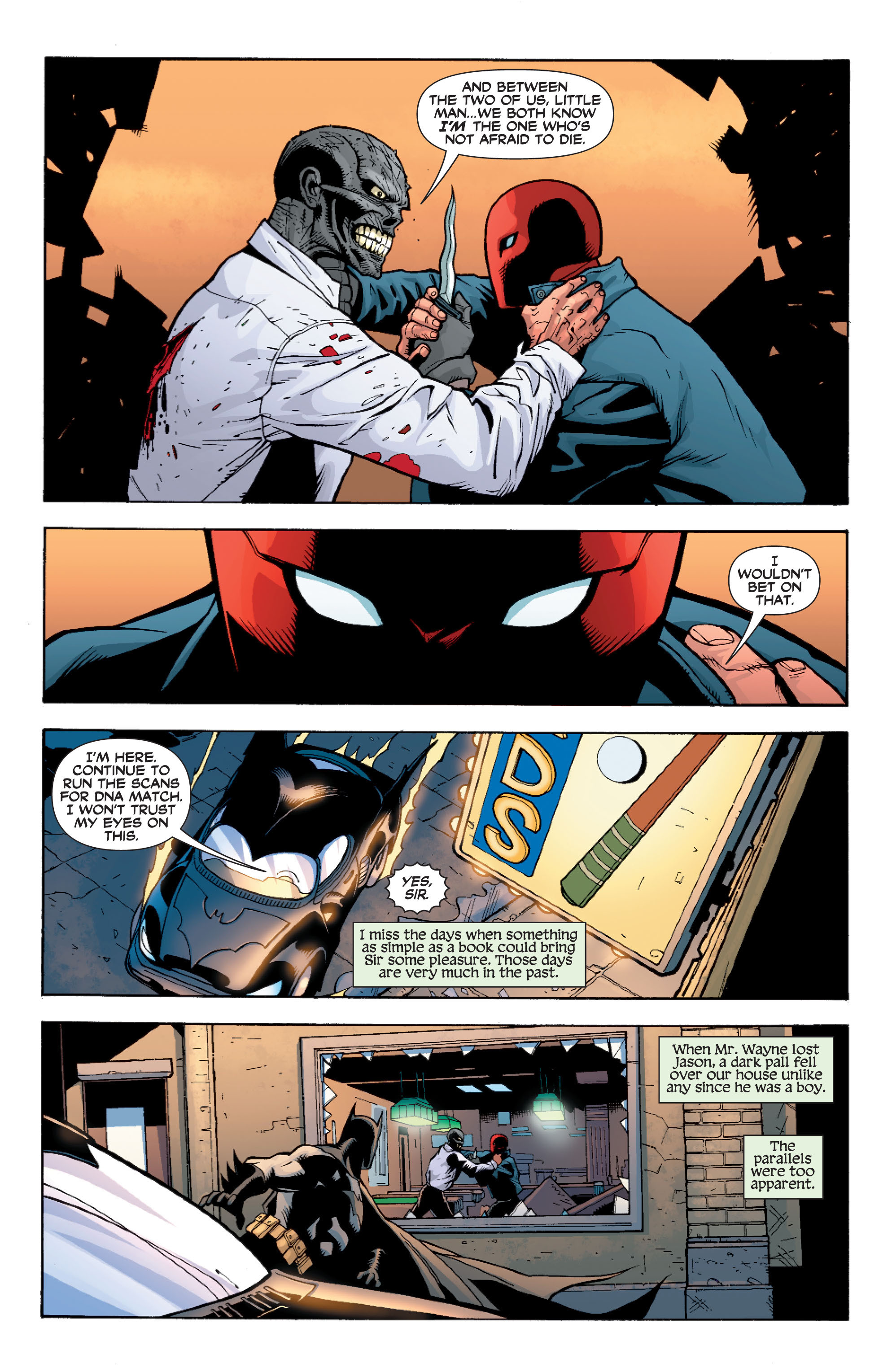 Read online Batman: Under The Red Hood comic -  Issue # Full - 266