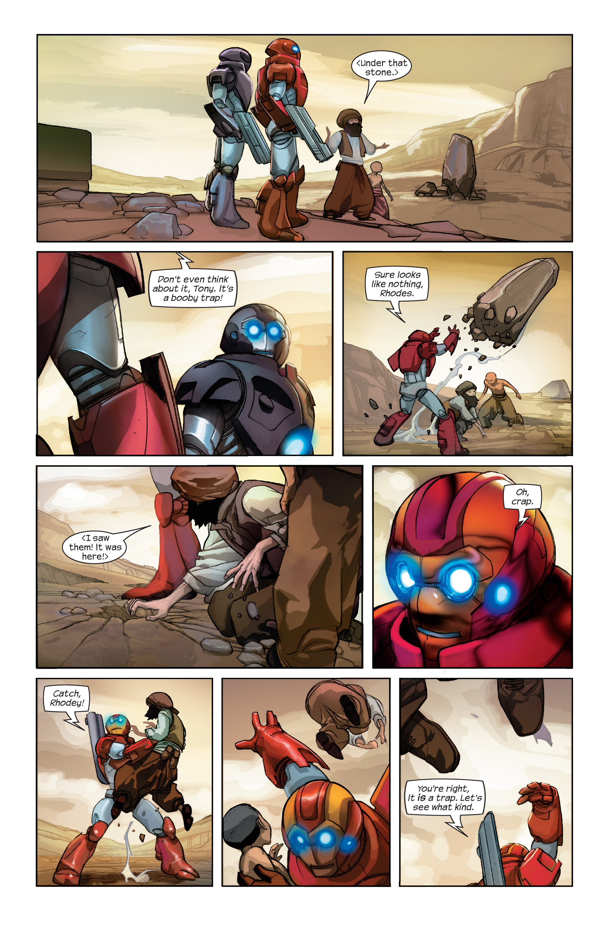 Read online Ultimate Iron Man II comic -  Issue #2 - 5