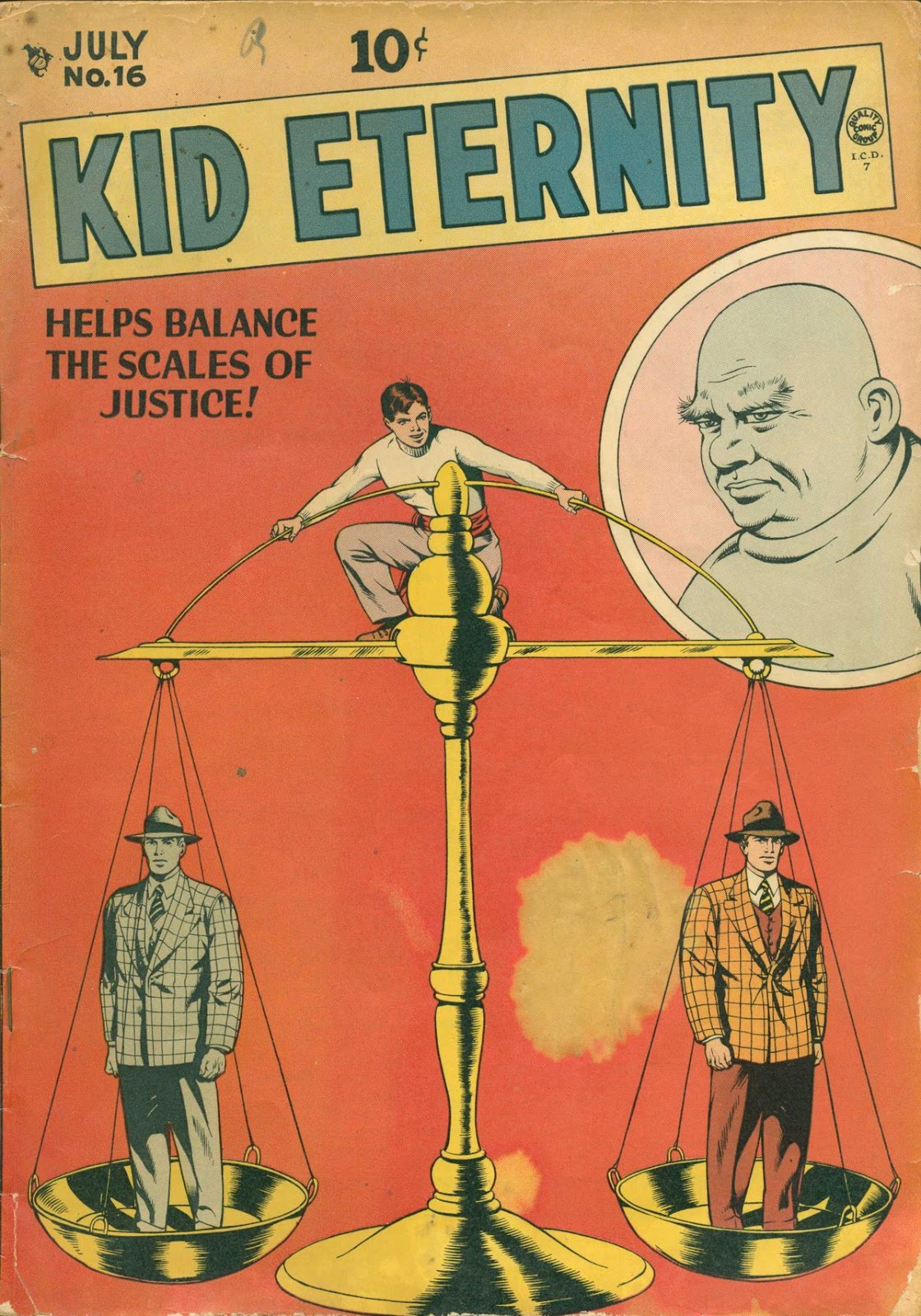 Kid Eternity (1946) issue 16 - Page 1
