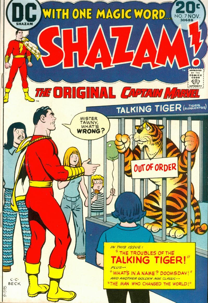 Read online Shazam! (1973) comic -  Issue #7 - 1