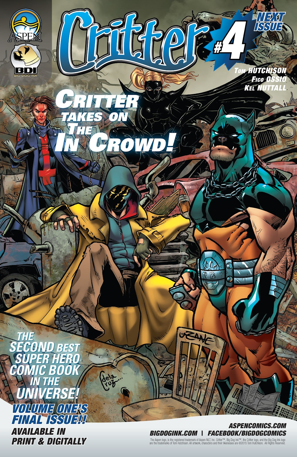 Read online Critter (2015) comic -  Issue #3 - 34