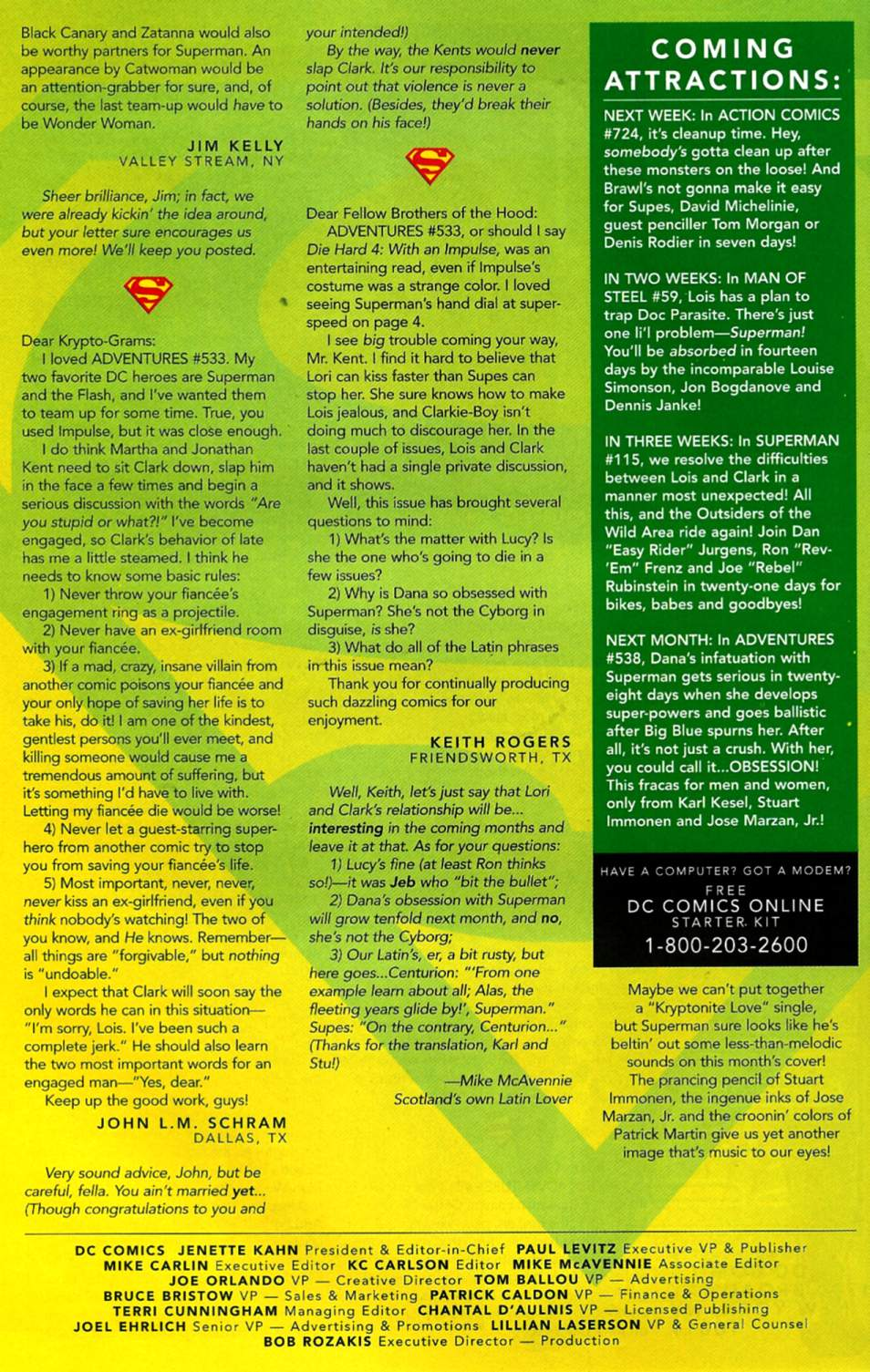 Read online Adventures of Superman (1987) comic -  Issue #537 - 25