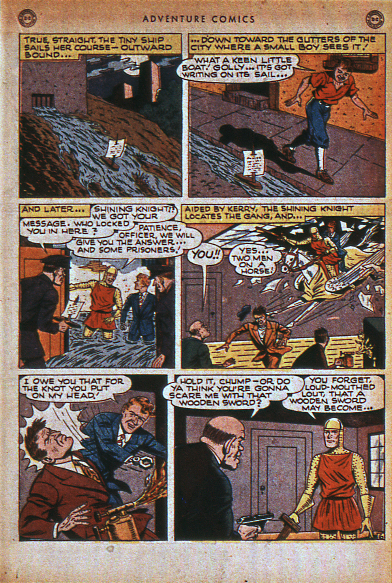 Read online Adventure Comics (1938) comic -  Issue #116 - 28