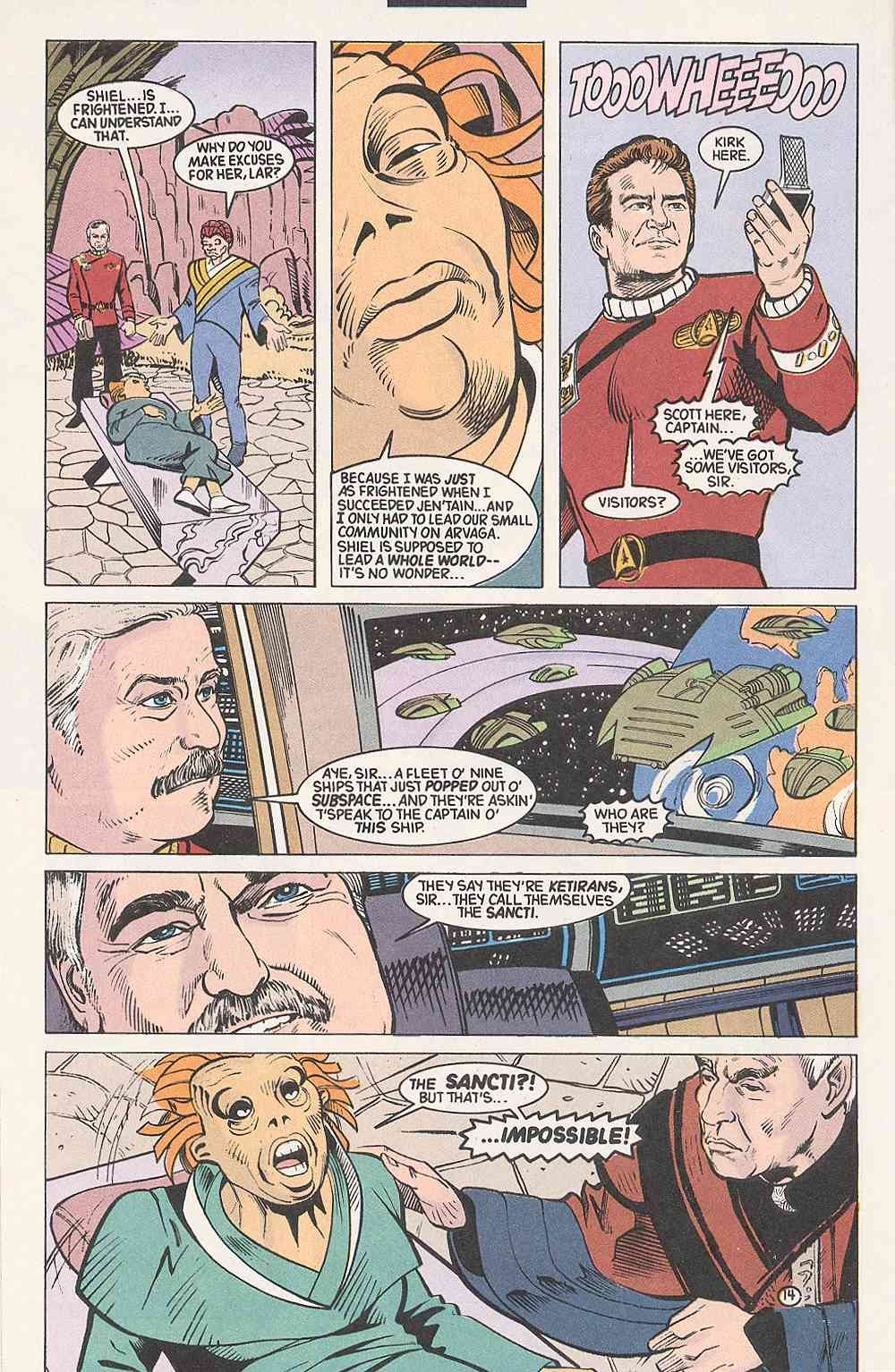 Read online Star Trek (1989) comic -  Issue # Annual 3 - 18