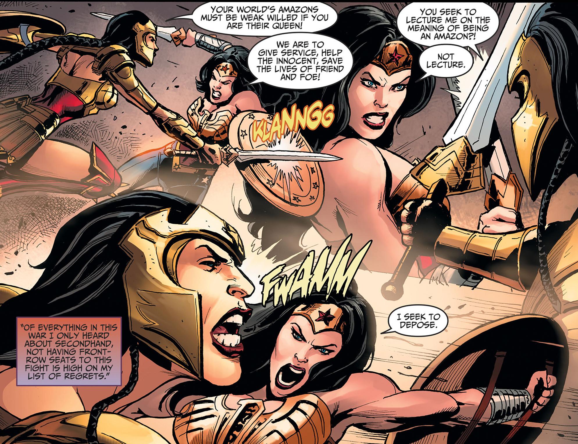Read online Injustice: Ground Zero comic -  Issue #22 - 9
