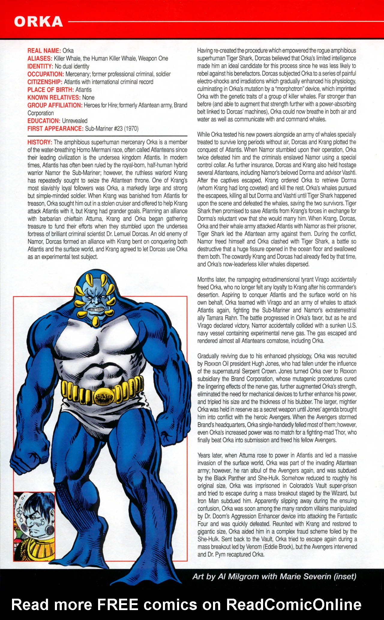 Read online All-New Official Handbook of the Marvel Universe A to Z: Update comic -  Issue #2 - 42