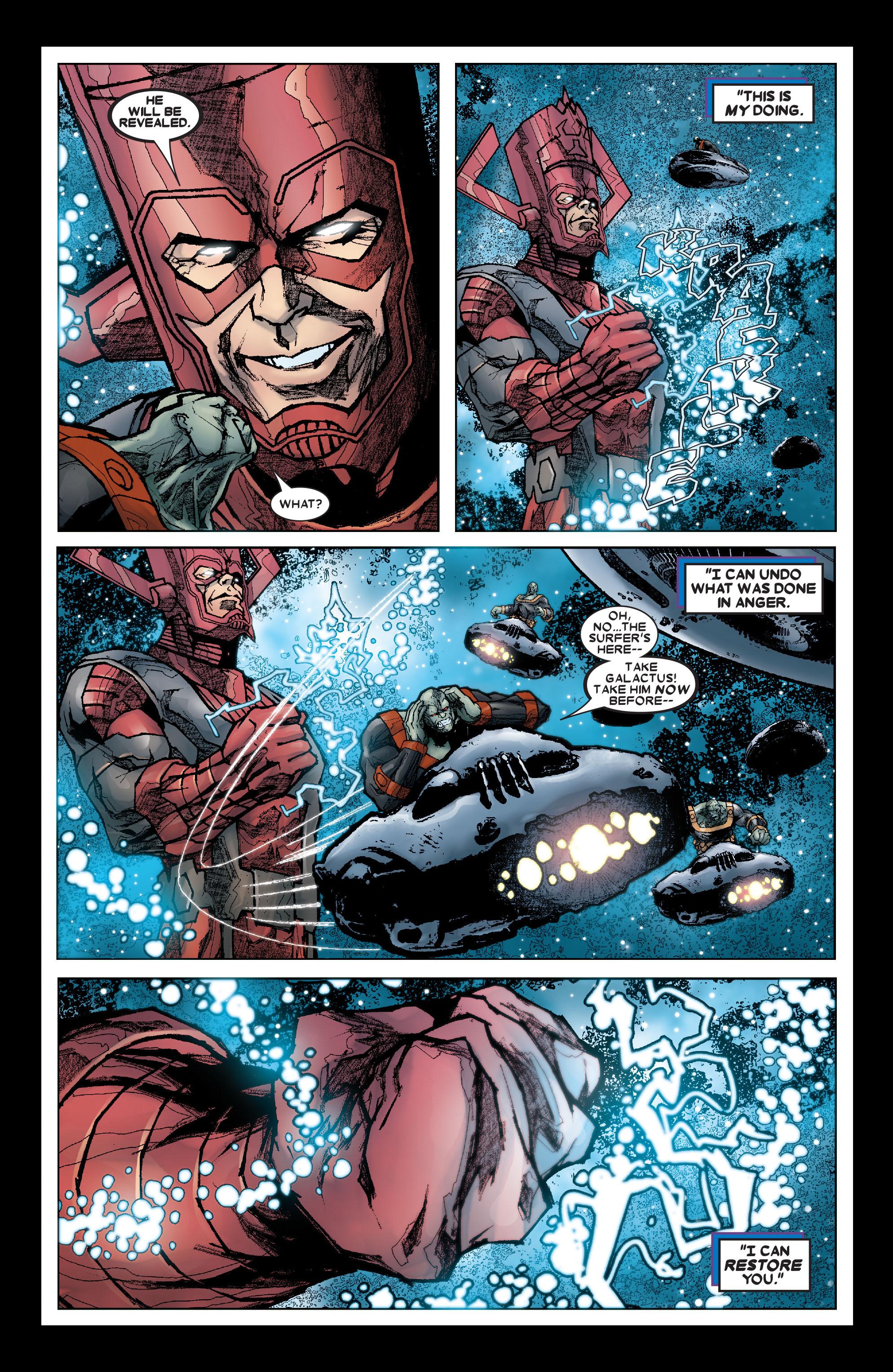 Read online Annihilation: Silver Surfer comic -  Issue #3 - 22