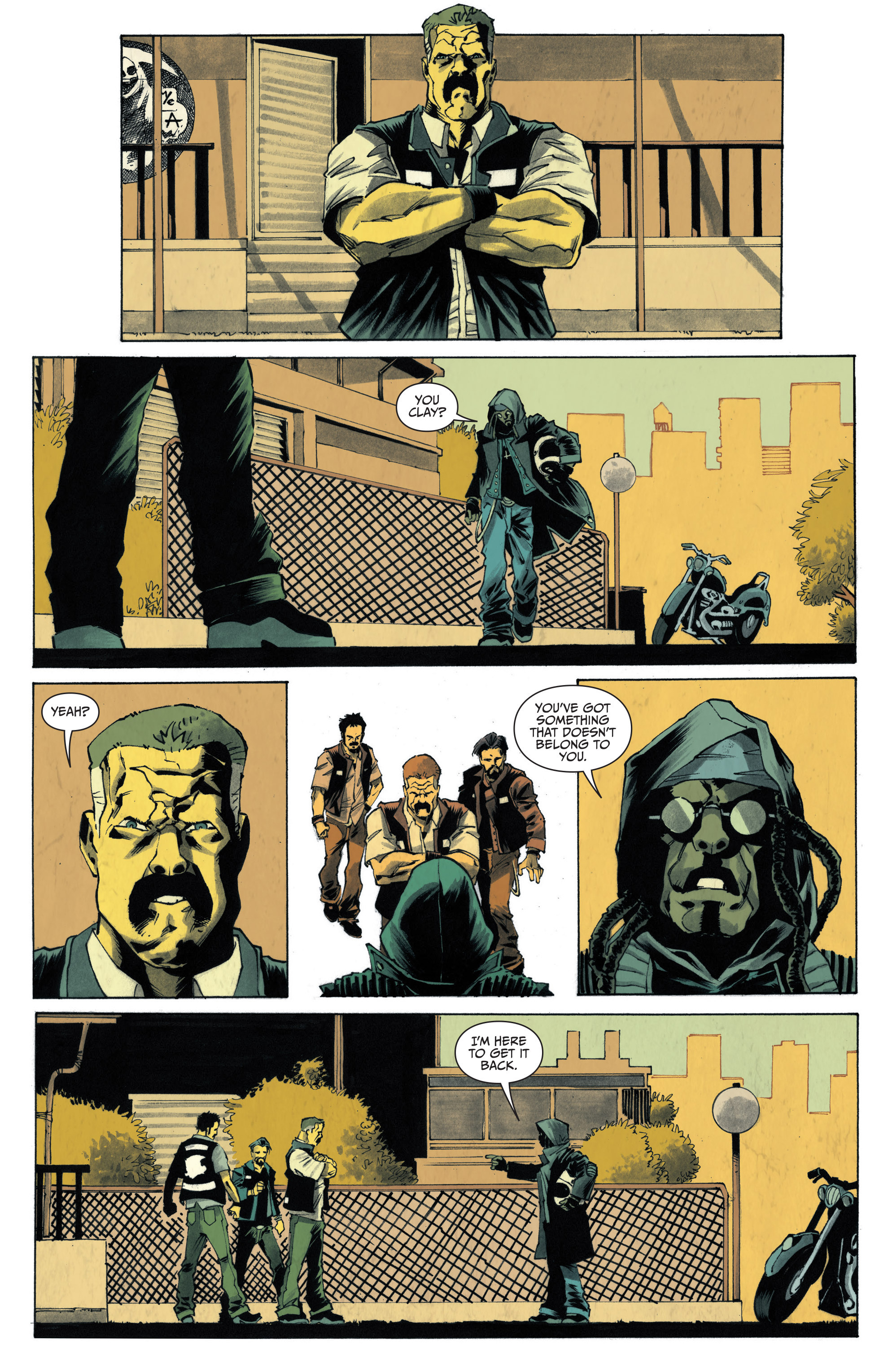 Read online Sons of Anarchy: Redwood Original comic -  Issue #4 - 15