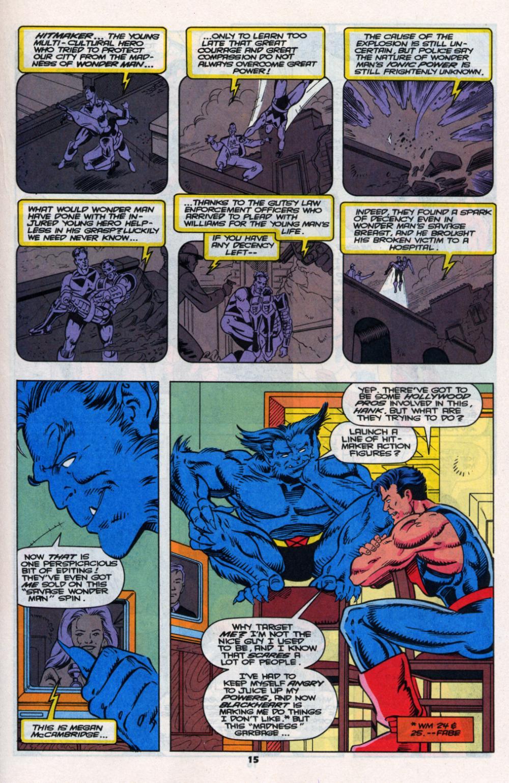 Read online Wonder Man (1991) comic -  Issue # _Annual 2 - 14