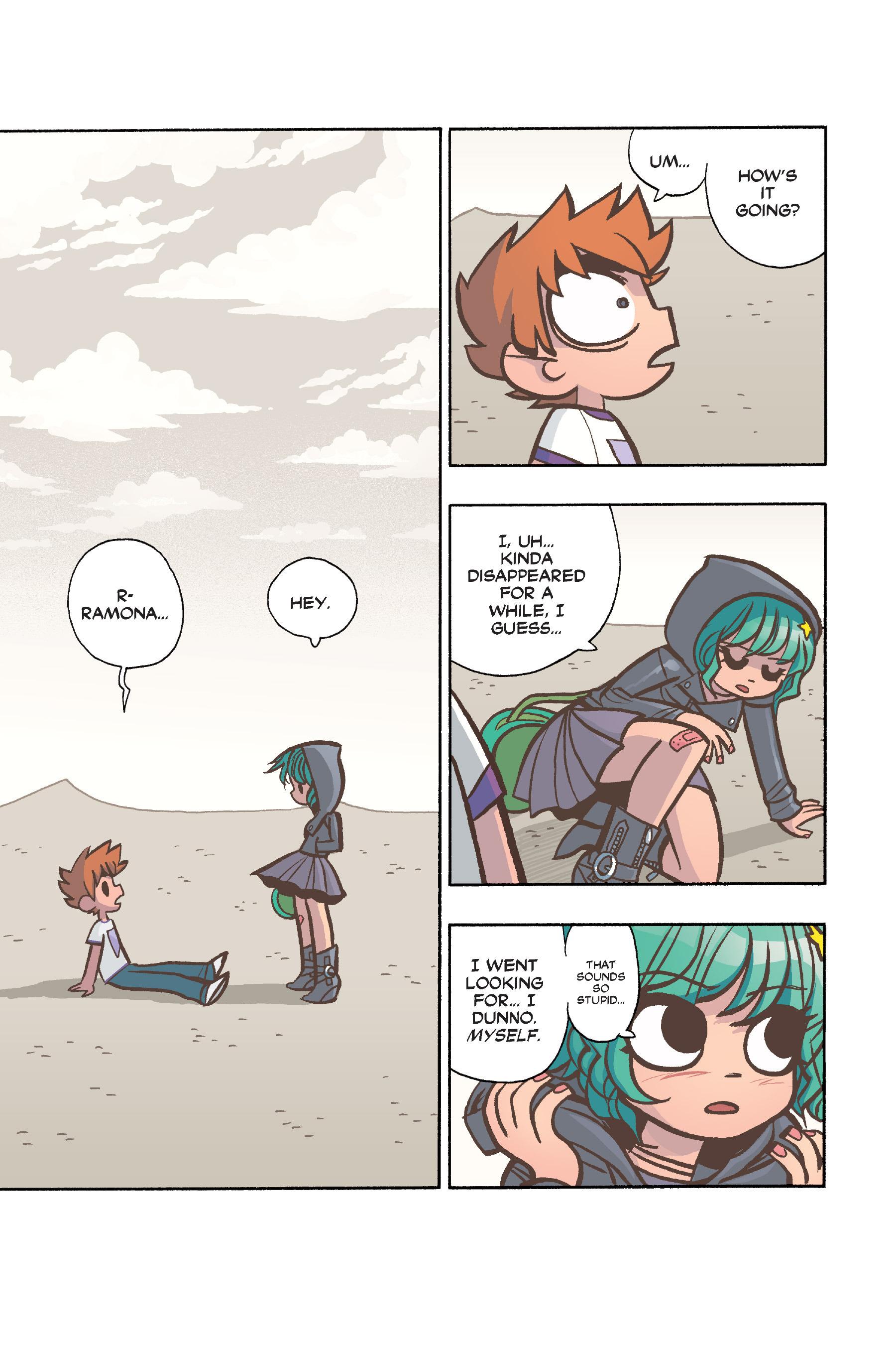 Read online Scott Pilgrim comic -  Issue #6 - 134