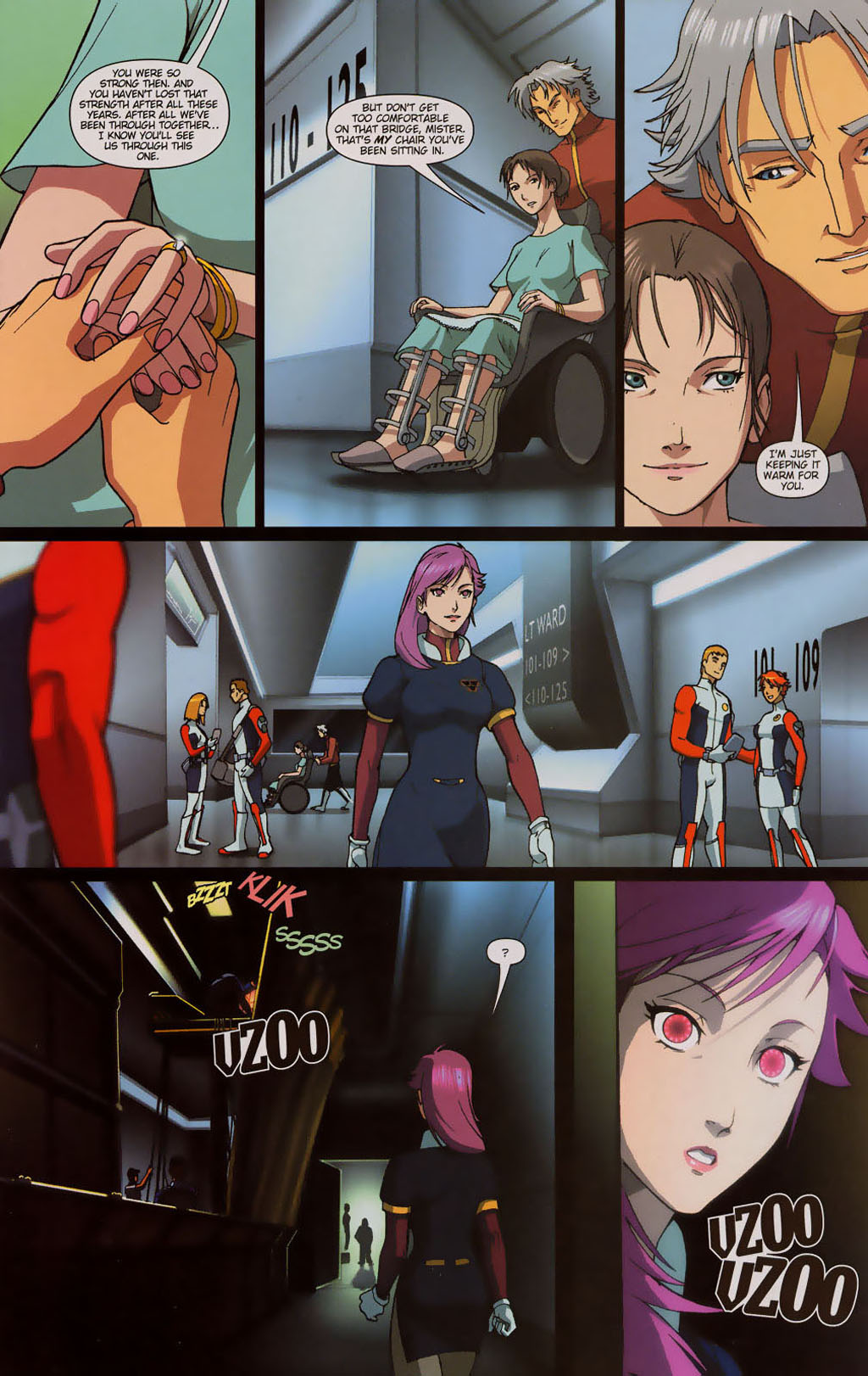 Read online Robotech: Prelude to the Shadow Chronicles comic -  Issue #3 - 8