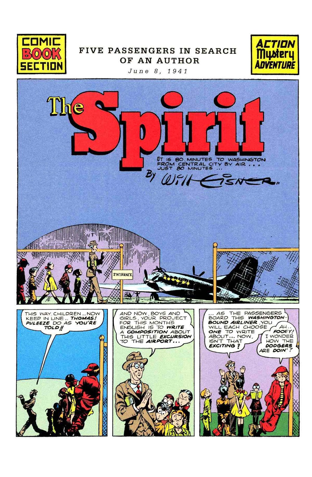 Read online Will Eisner's The Spirit Archives comic -  Issue # TPB 2 (Part 2) - 77