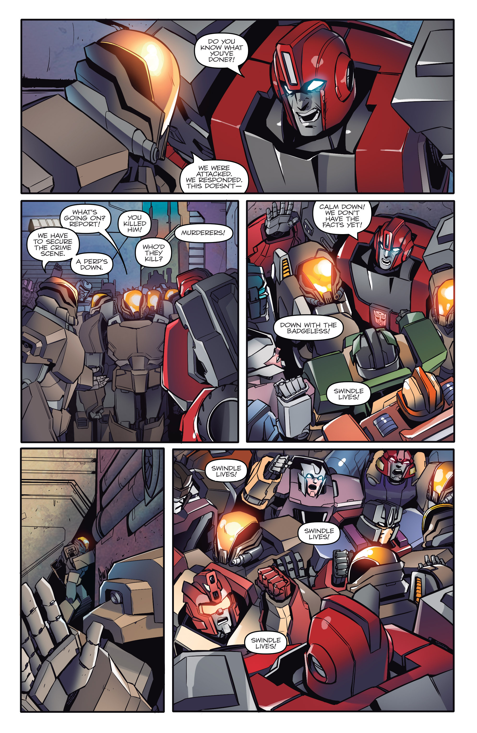 Read online Transformers: Till All Are One comic -  Issue #1 - 18
