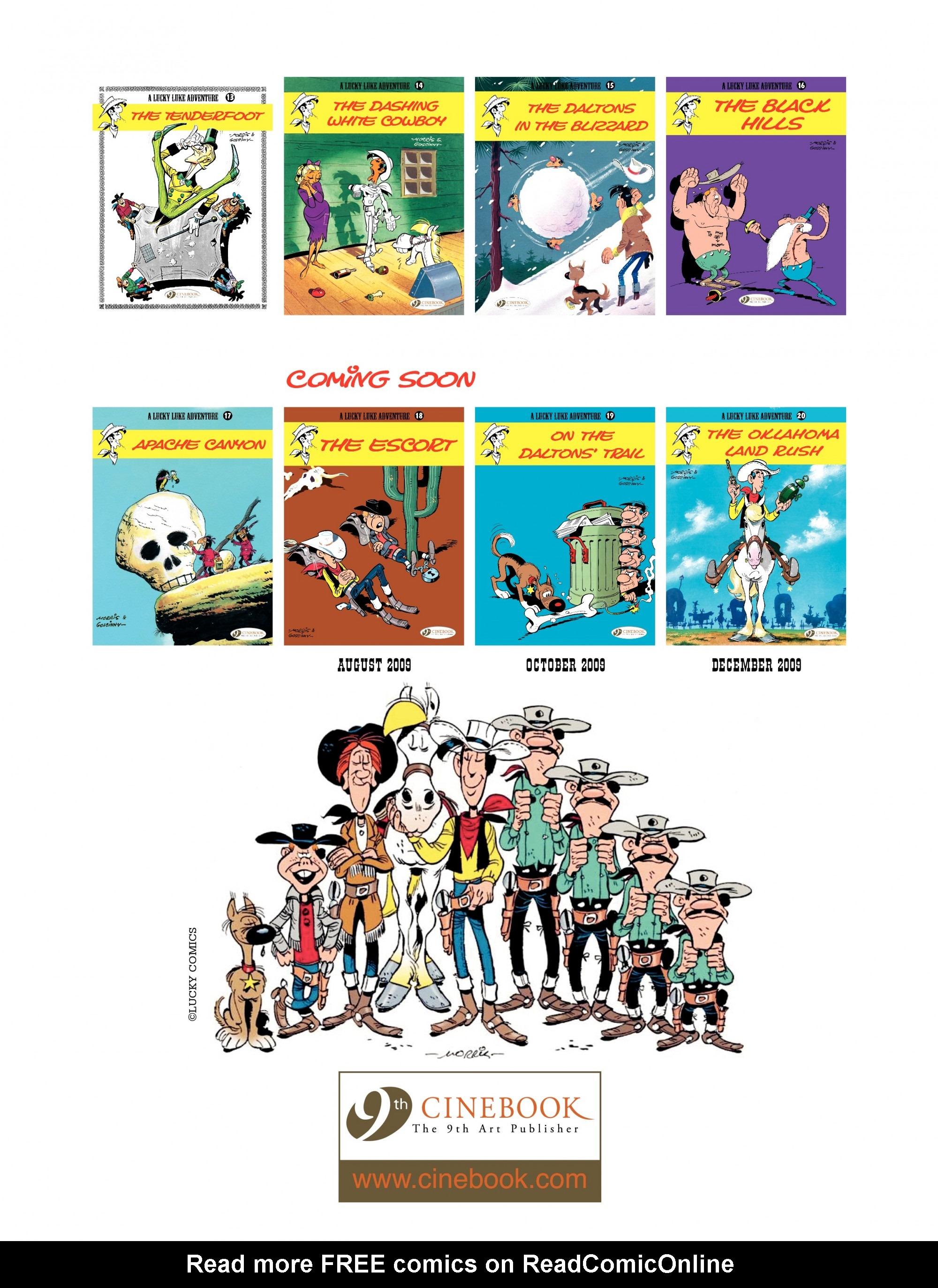 Read online A Lucky Luke Adventure comic -  Issue #17 - 48