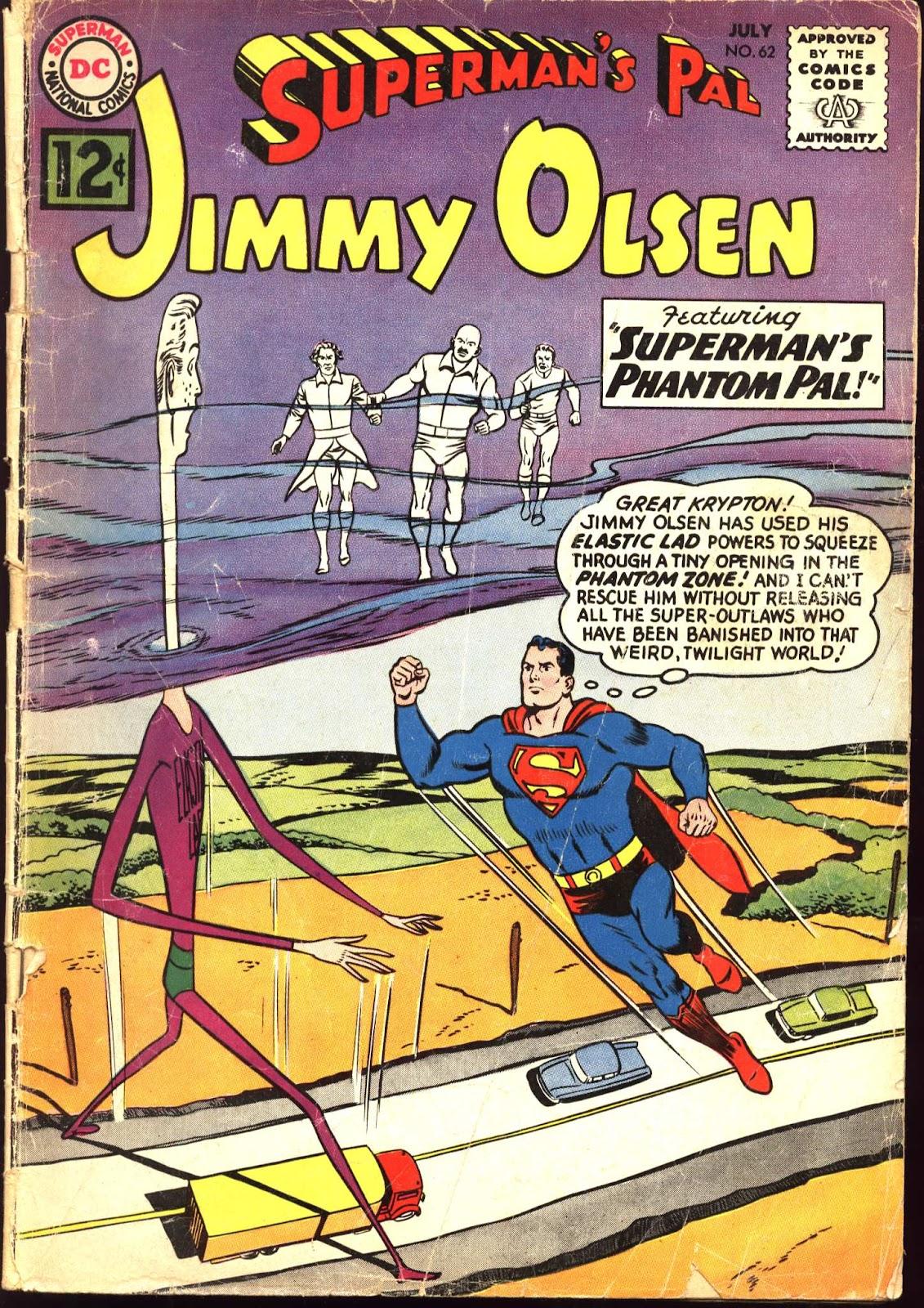 Supermans Pal Jimmy Olsen (1954) 62 Page 1