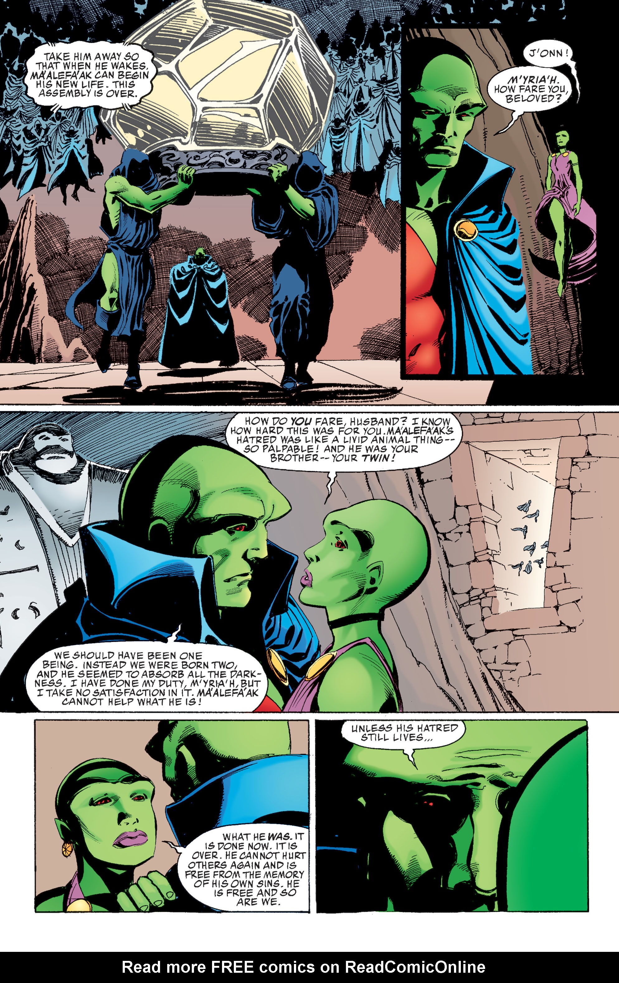 Read online Martian Manhunter: Son of Mars comic -  Issue # TPB - 171