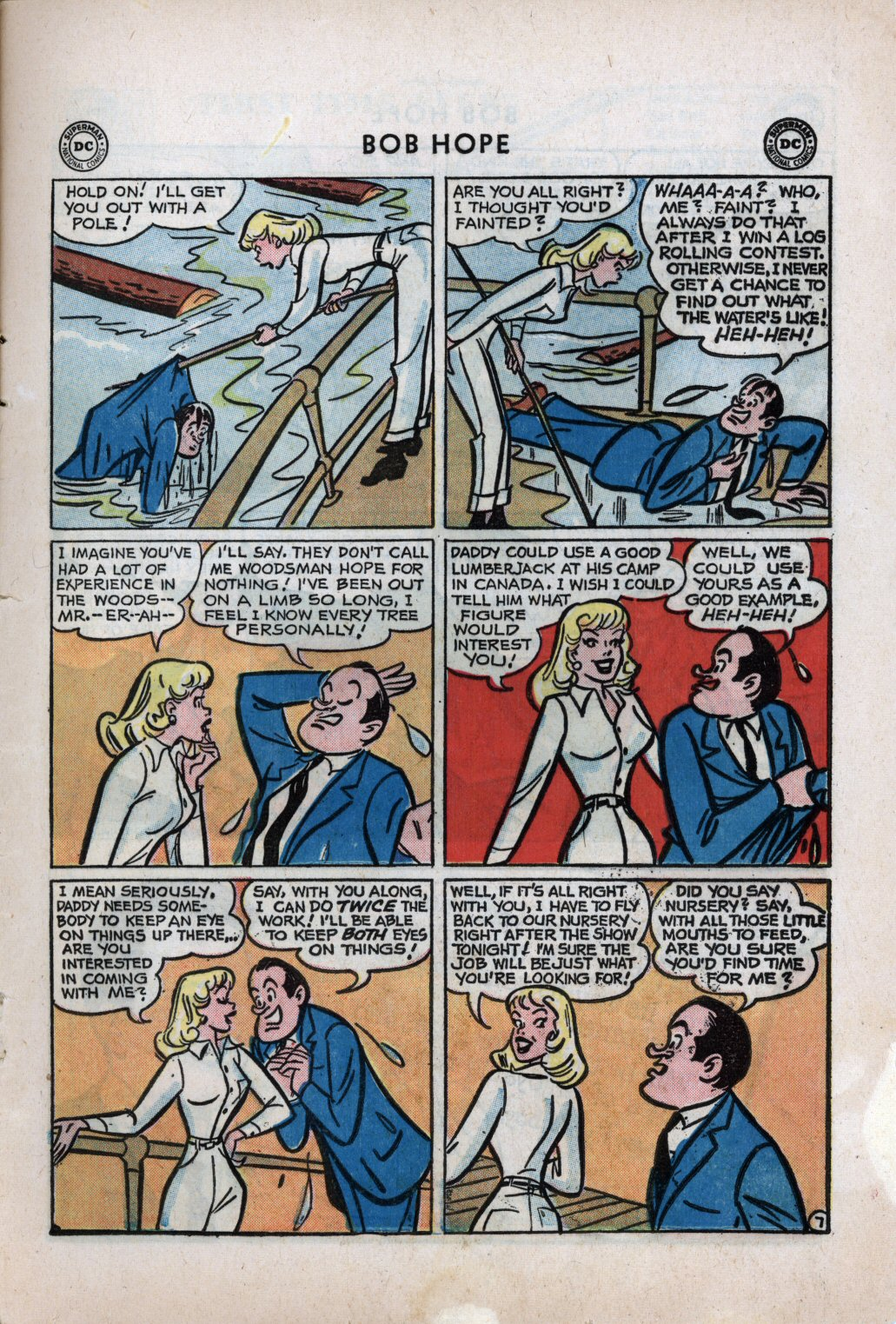 The Adventures of Bob Hope issue 59 - Page 9