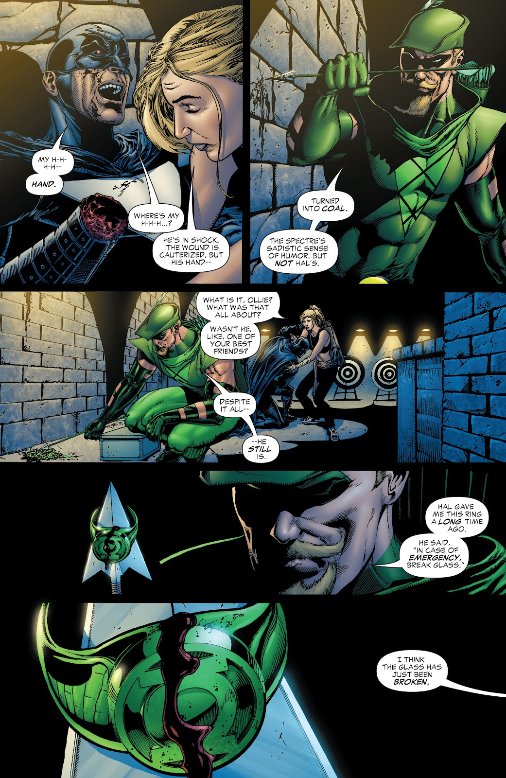 Read online Green Lantern by Geoff Johns comic -  Issue # TPB 1 (Part 1) - 28