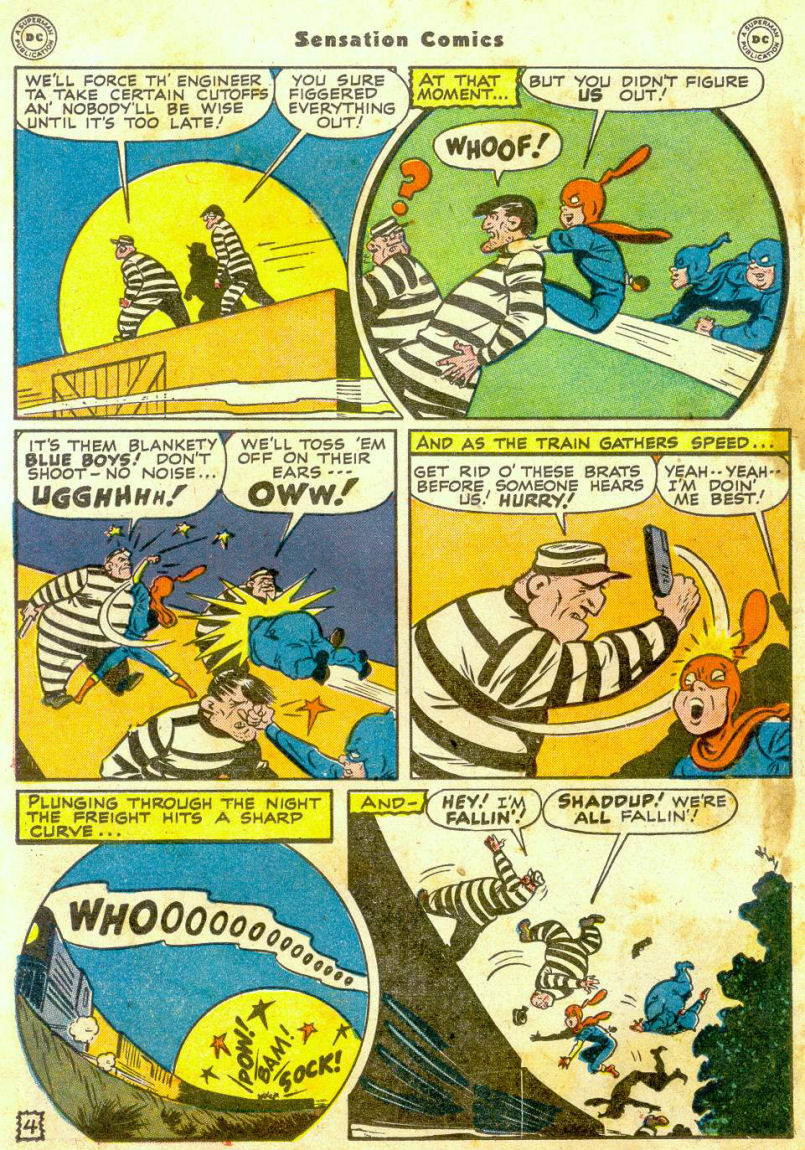 Read online Sensation (Mystery) Comics comic -  Issue #65 - 19