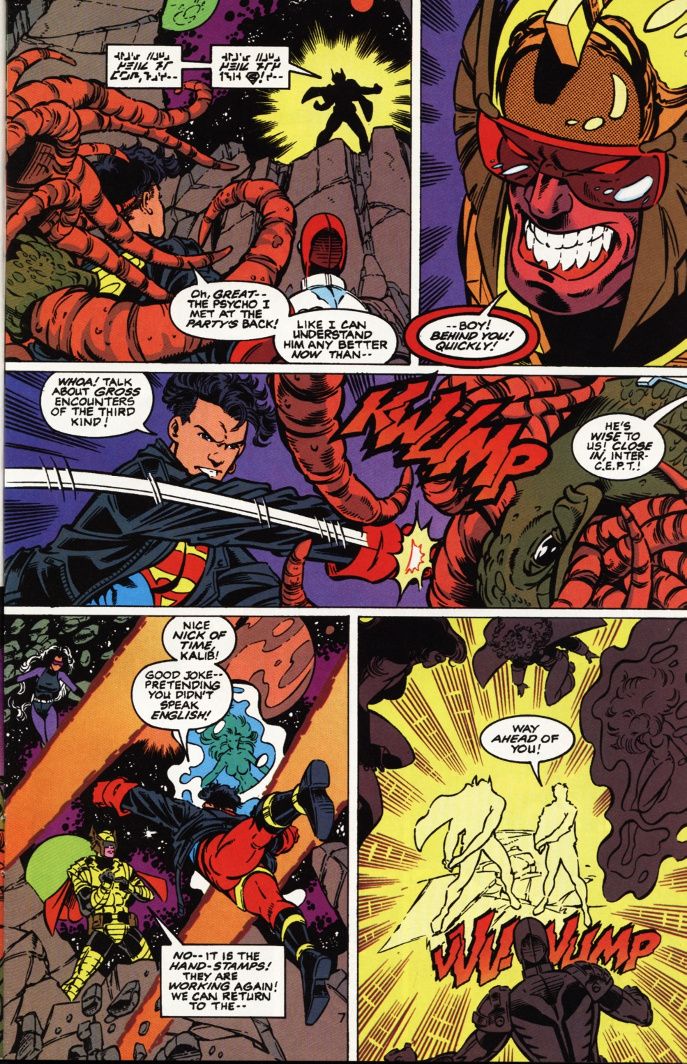 Read online Superboy & The Ravers comic -  Issue #2 - 8