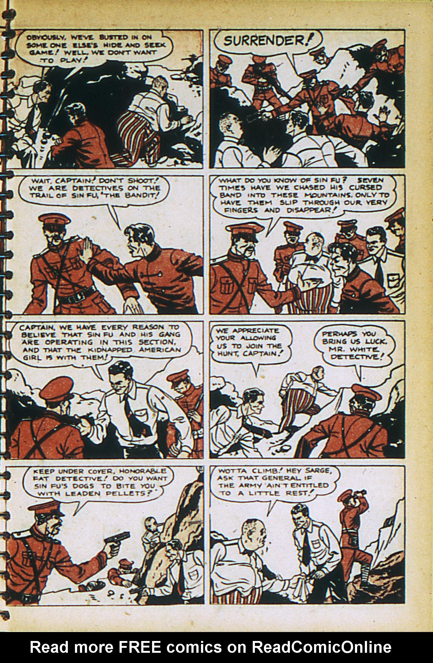 Read online Adventure Comics (1938) comic -  Issue #27 - 23